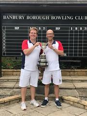 Men's pairs winners 2019
