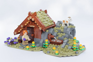 [GoH] Goatherd's Hut | by aurorabricks