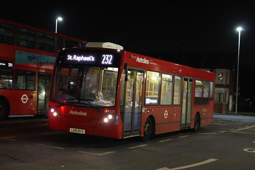 Last Metroline 232