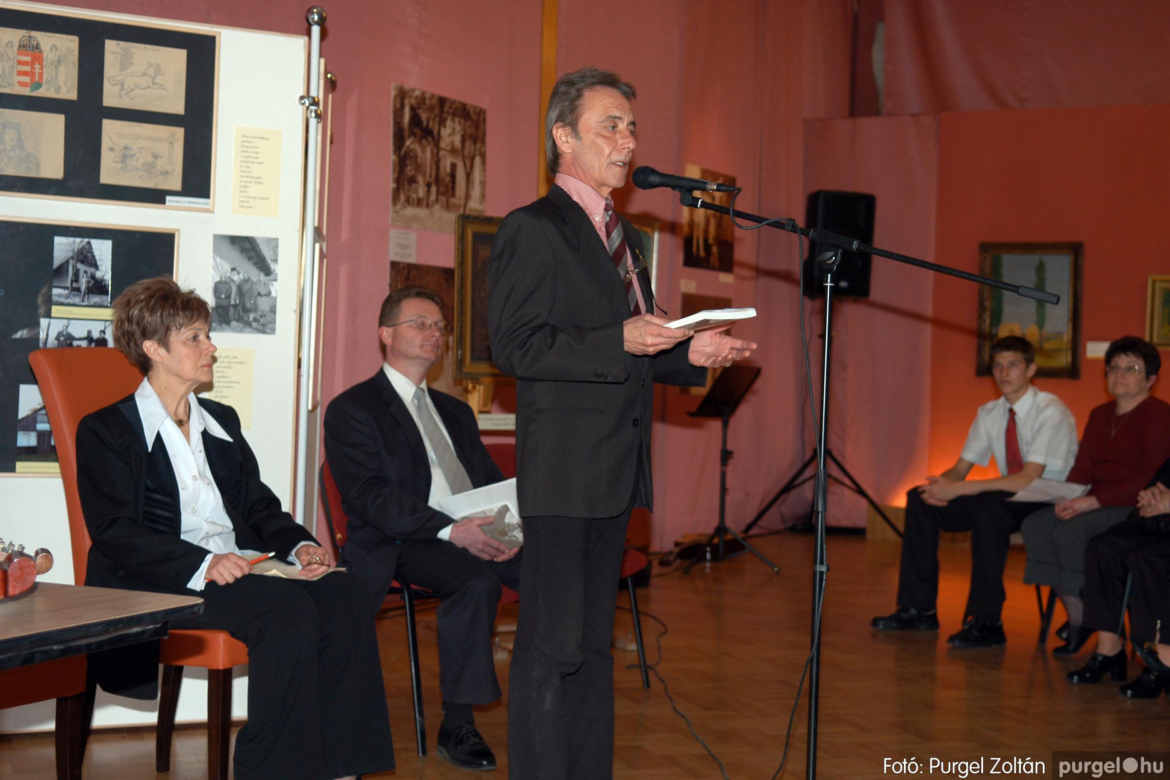 2008.04.07. 001 A tanító öröksége című kiállítás megnyitója Szegeden - Fotó:PURGEL ZOLTÁN© DSC_0626q.jpg