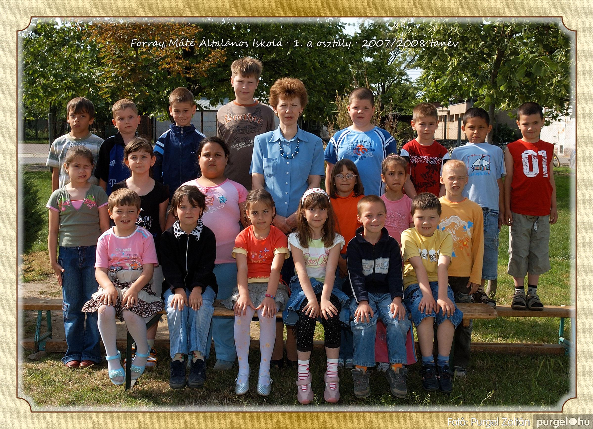 2008.05.08-26. 001 Forray Máté Általános Iskola osztályképek 2008. - Fotó:PURGEL ZOLTÁN© 1a-1.jpg
