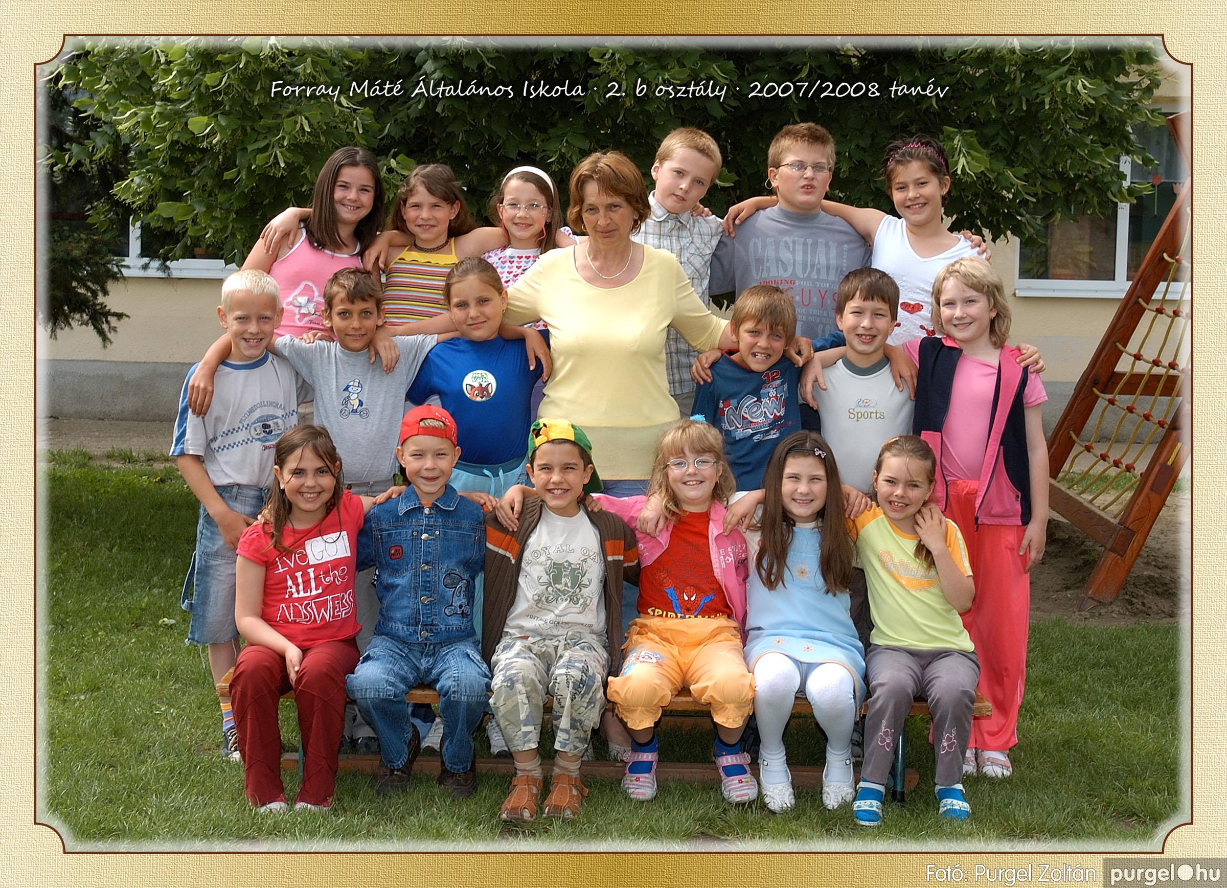 2008.05.08-26. 011 Forray Máté Általános Iskola osztályképek 2008. - Fotó:PURGEL ZOLTÁN© 2b-2.jpg