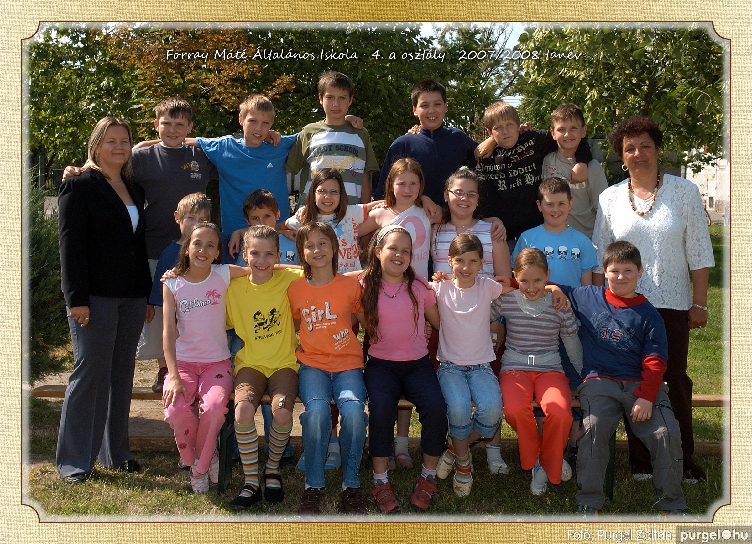 2008.05.08-26. 022 Forray Máté Általános Iskola osztályképek 2008. - Fotó:PURGEL ZOLTÁN© 4a-4.jpg