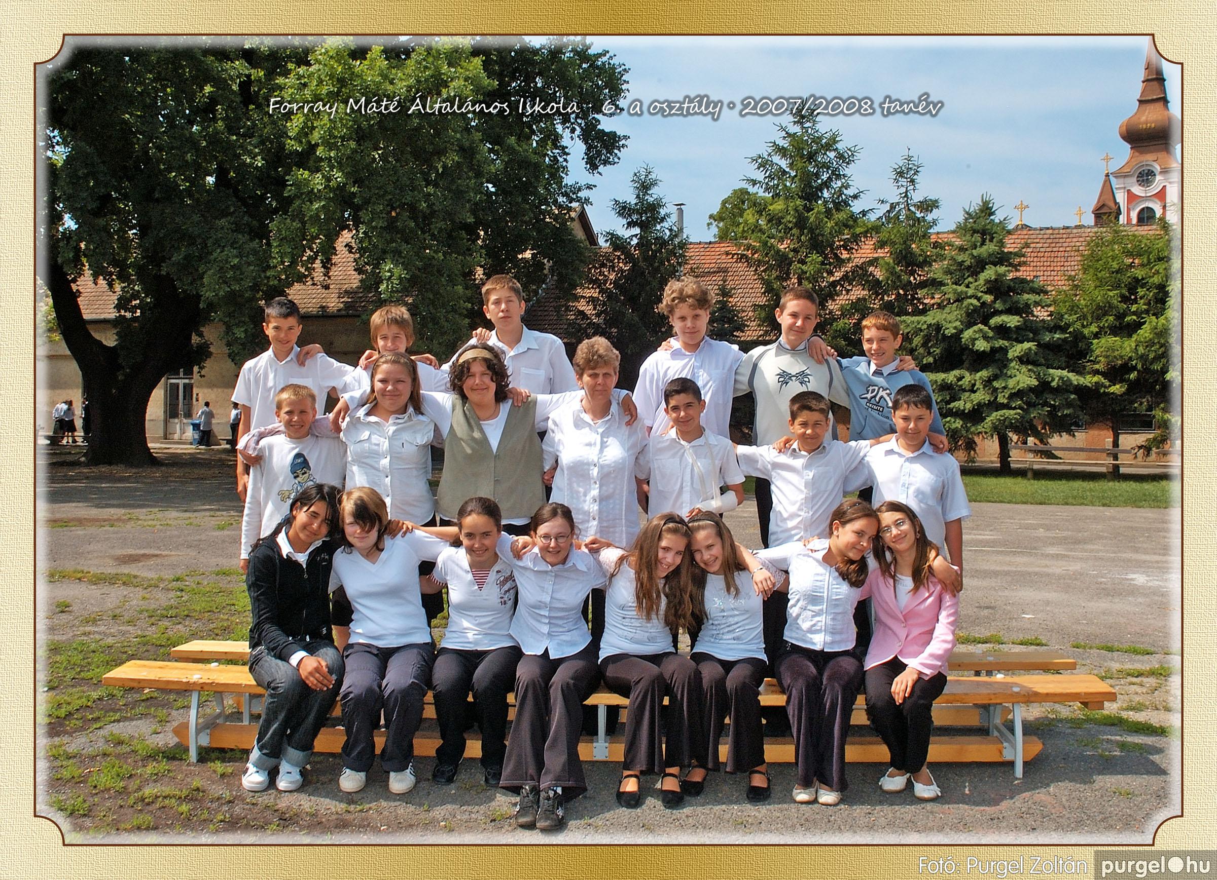 2008.05.08-26. 038 Forray Máté Általános Iskola osztályképek 2008. - Fotó:PURGEL ZOLTÁN© 6a-2.jpg