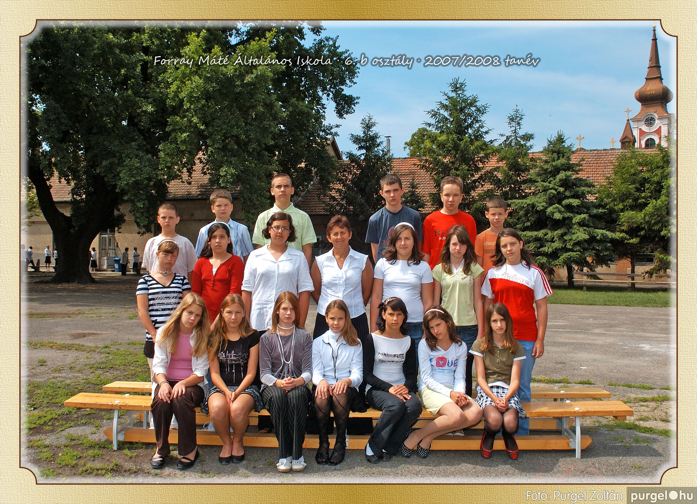 2008.05.08-26. 040 Forray Máté Általános Iskola osztályképek 2008. - Fotó:PURGEL ZOLTÁN© 6b-1.jpg