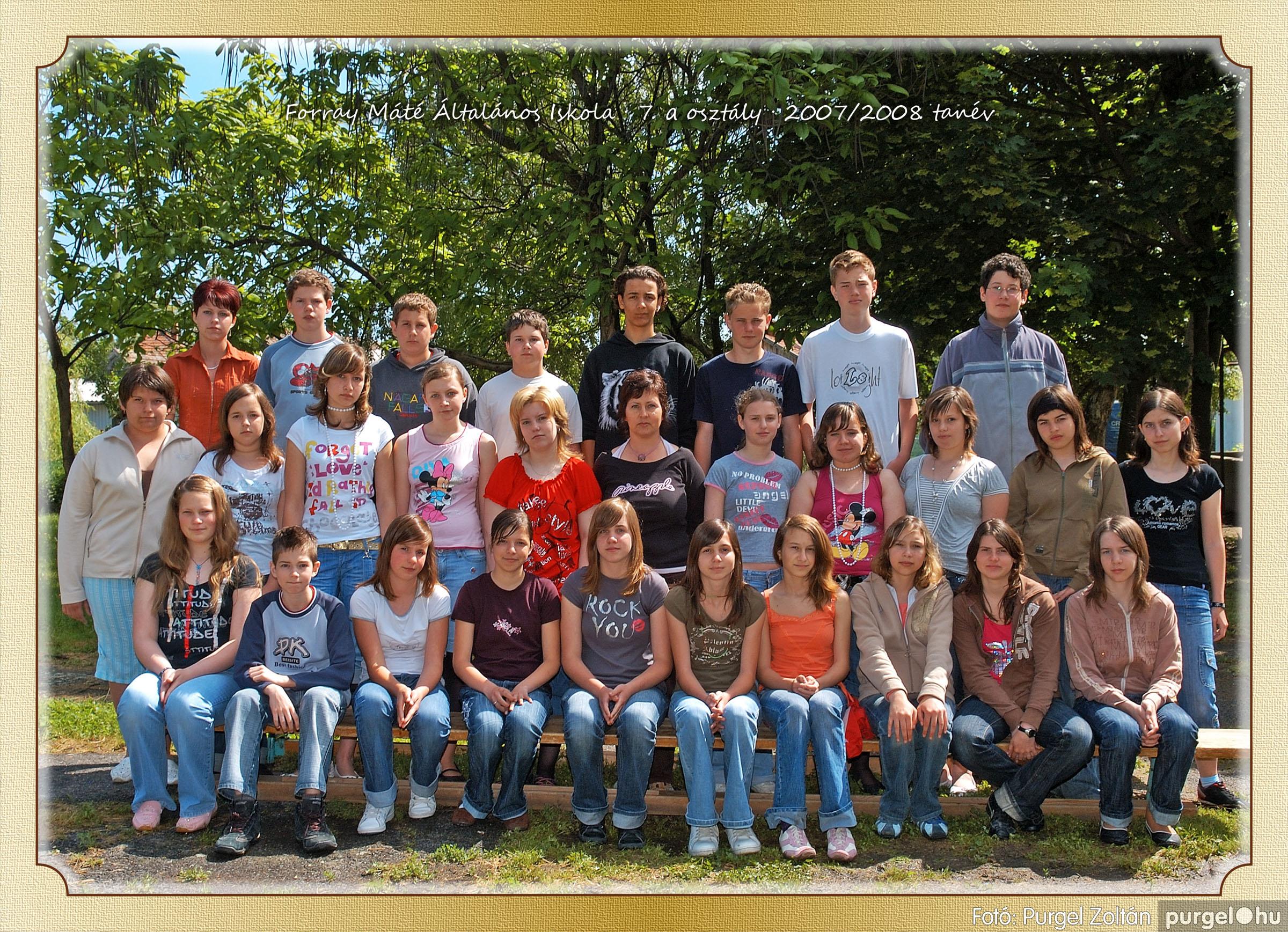 2008.05.08-26. 043 Forray Máté Általános Iskola osztályképek 2008. - Fotó:PURGEL ZOLTÁN© 7a-1.jpg