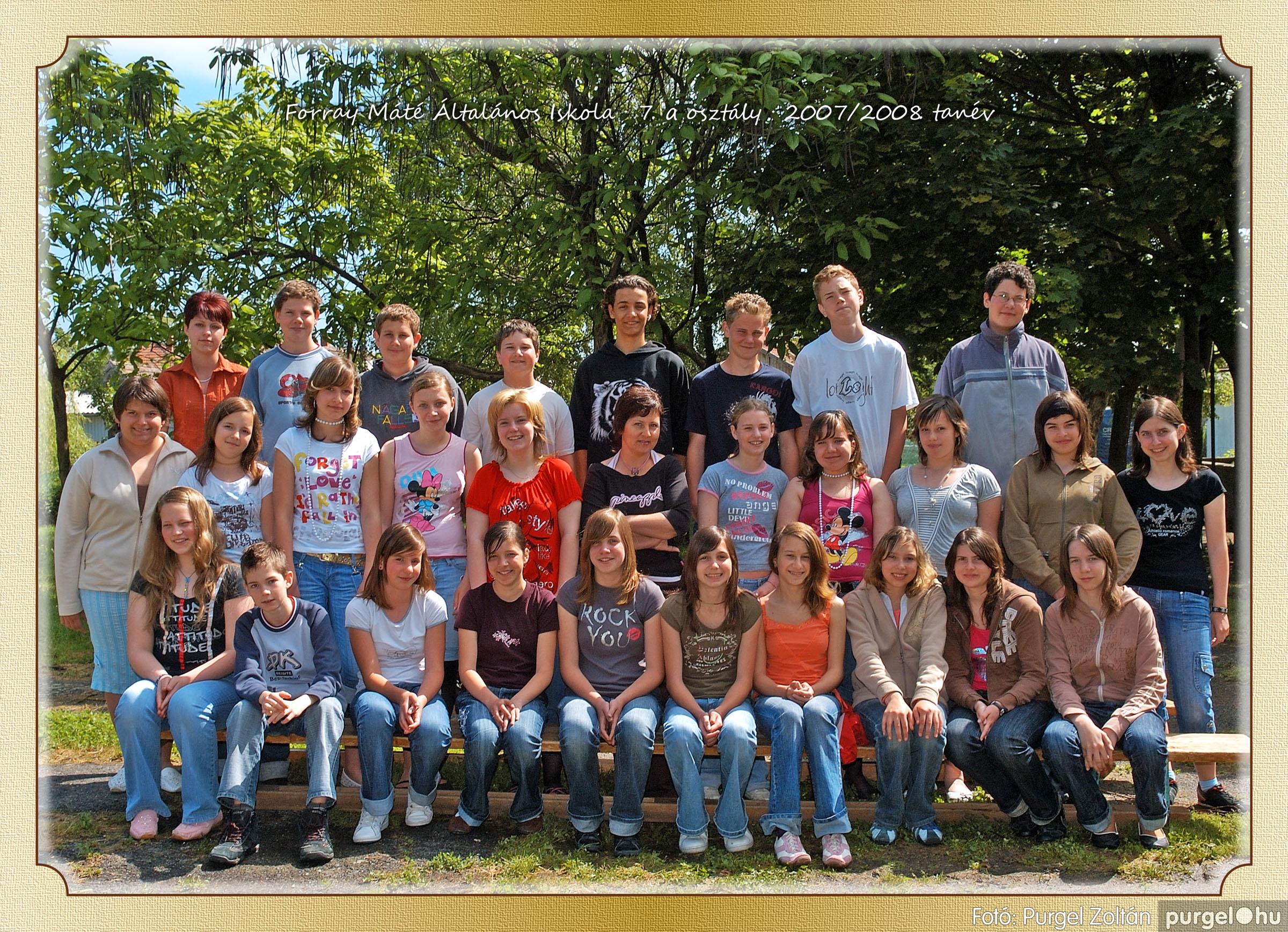 2008.05.08-26. 044 Forray Máté Általános Iskola osztályképek 2008. - Fotó:PURGEL ZOLTÁN© 7a-2.jpg