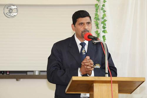 Sewa Dal volunteers expresses his views