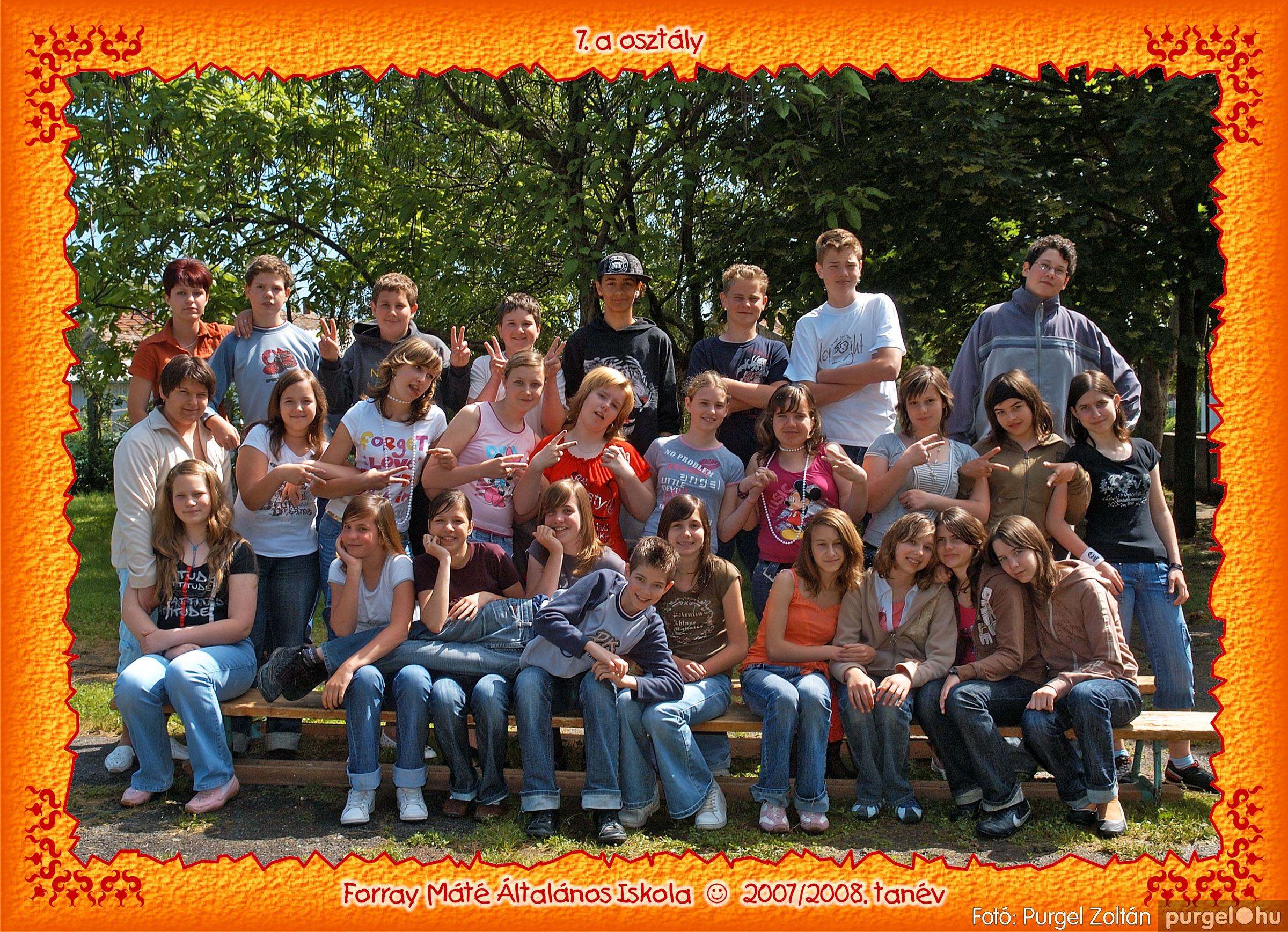 2008.05.08-26. 045 Forray Máté Általános Iskola osztályképek 2008. - Fotó:PURGEL ZOLTÁN© 7a-3.jpg