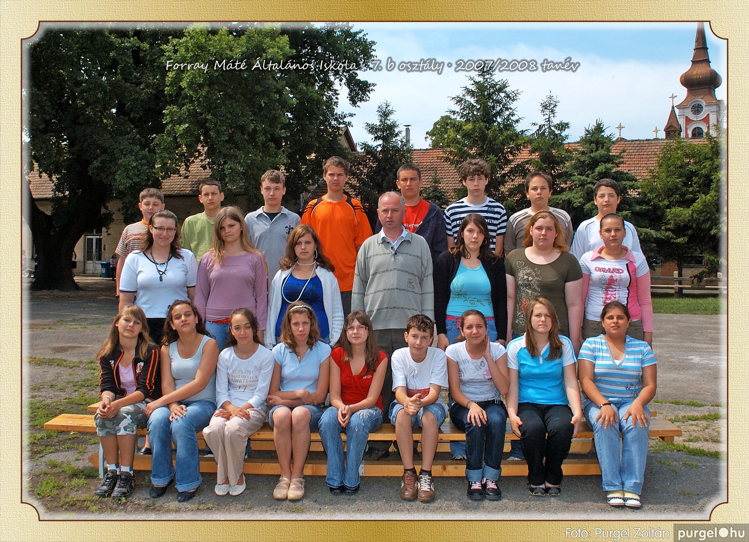 2008.05.08-26. 046 Forray Máté Általános Iskola osztályképek 2008. - Fotó:PURGEL ZOLTÁN© 7b-1.jpg