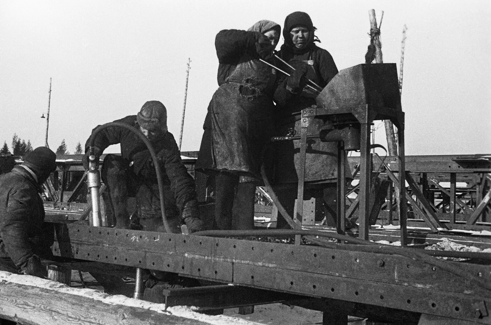1931. Из серии «Уралмашстрой»
