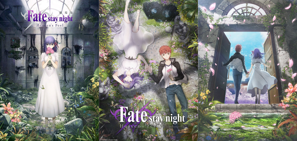 190803(2) - 三部曲海報描繪小櫻童話、劇場版《Fate/stay night [Heaven's Feel] III.spring song》預定2020年春天上映!