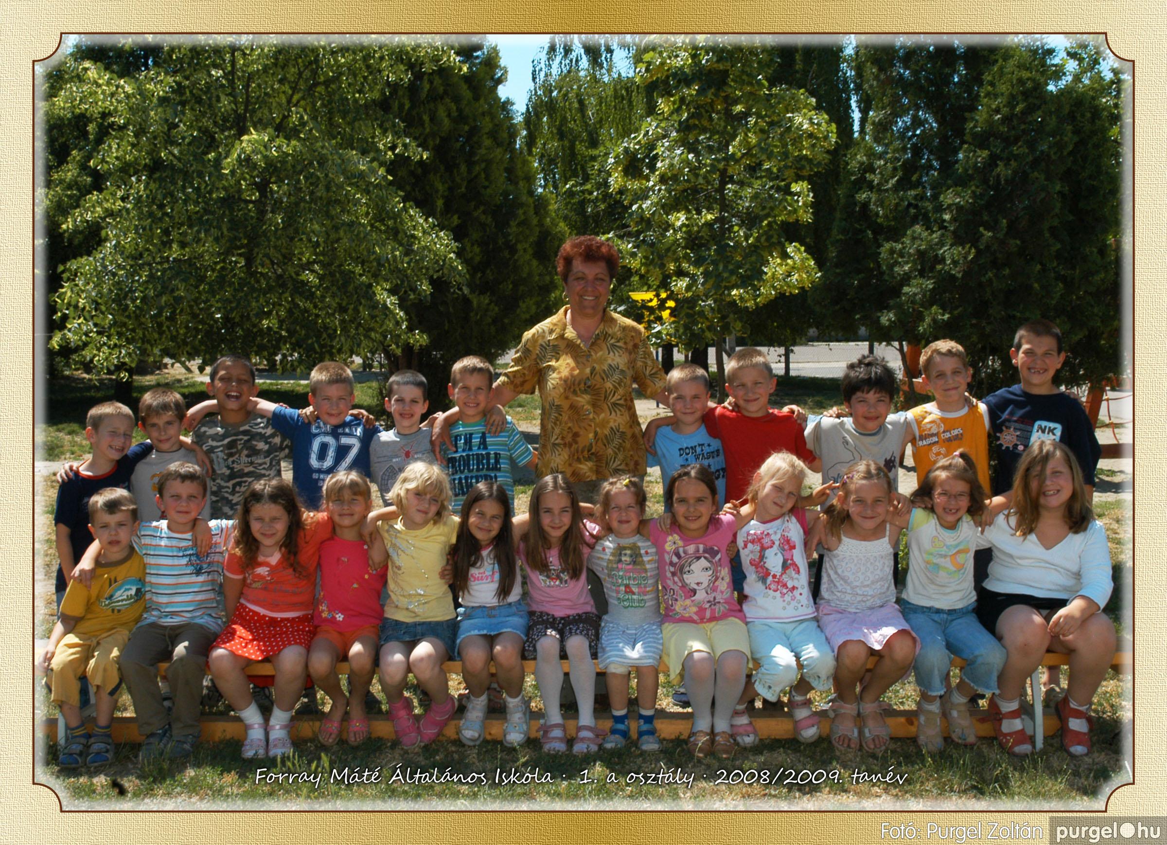 2009.05.04-26. 002 Forray Máté Általános Iskola osztályképek 2009. - Fotó:PURGEL ZOLTÁN© 1a-2.jpg