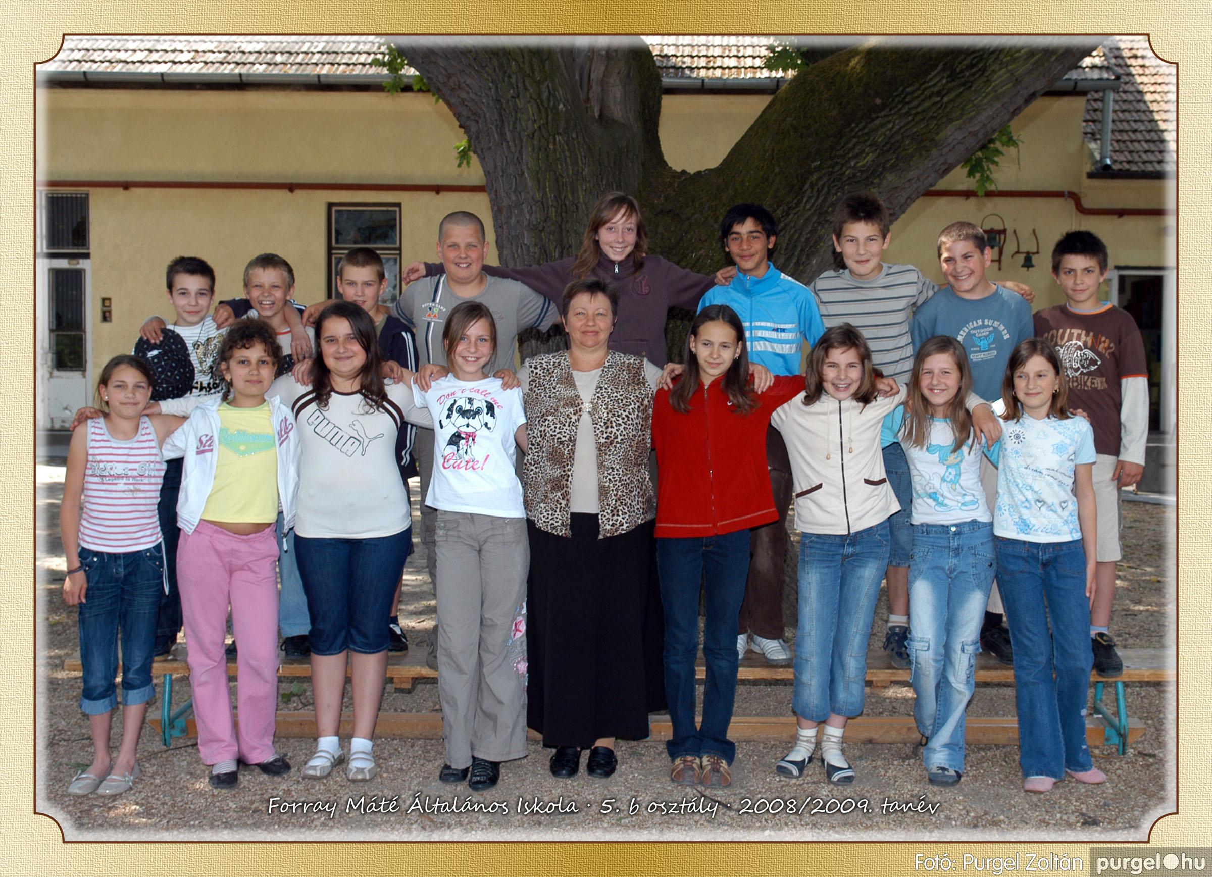 2009.05.04-26. 029 Forray Máté Általános Iskola osztályképek 2009. - Fotó:PURGEL ZOLTÁN© 5b-2.jpg