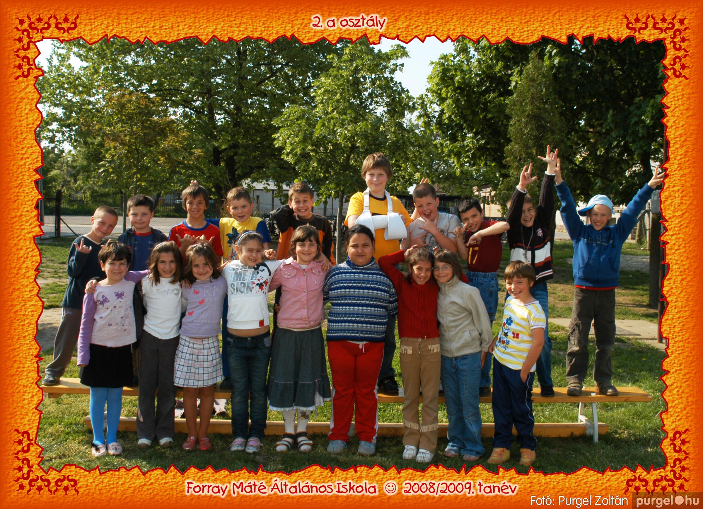 2009.05.04-26. 009 Forray Máté Általános Iskola osztályképek 2009. - Fotó:PURGEL ZOLTÁN© 2a-3.jpg