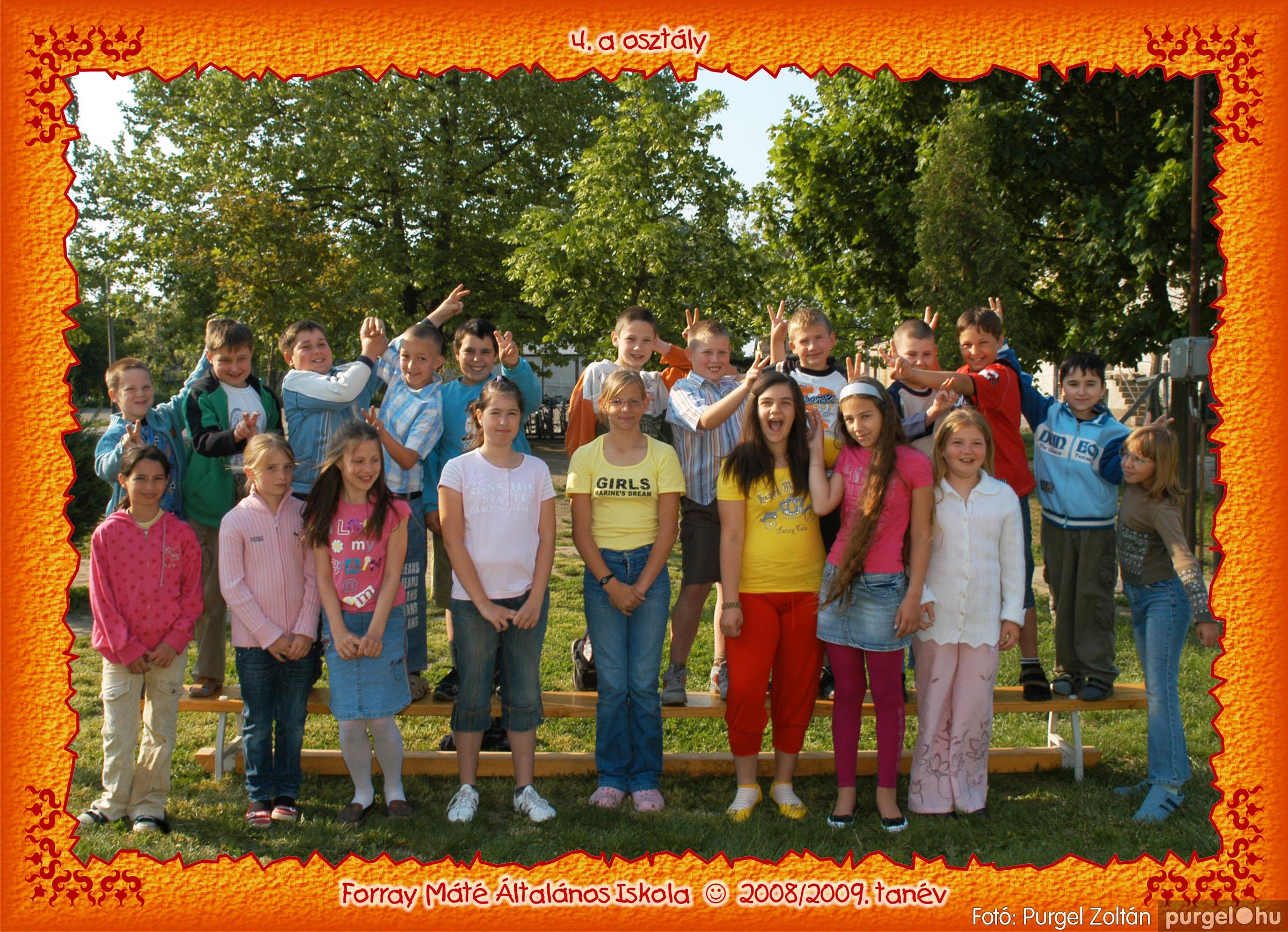 2009.05.04-26. 021 Forray Máté Általános Iskola osztályképek 2009. - Fotó:PURGEL ZOLTÁN© 4a-3.jpg