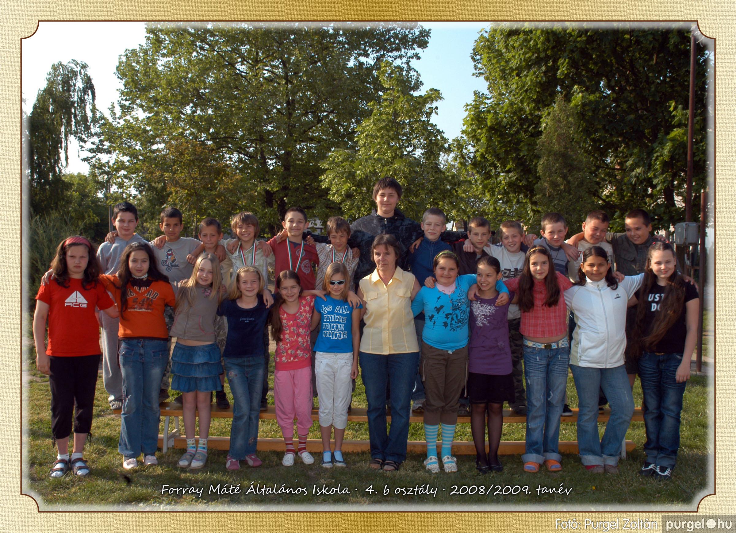 2009.05.04-26. 023 Forray Máté Általános Iskola osztályképek 2009. - Fotó:PURGEL ZOLTÁN© 4b-2.jpg