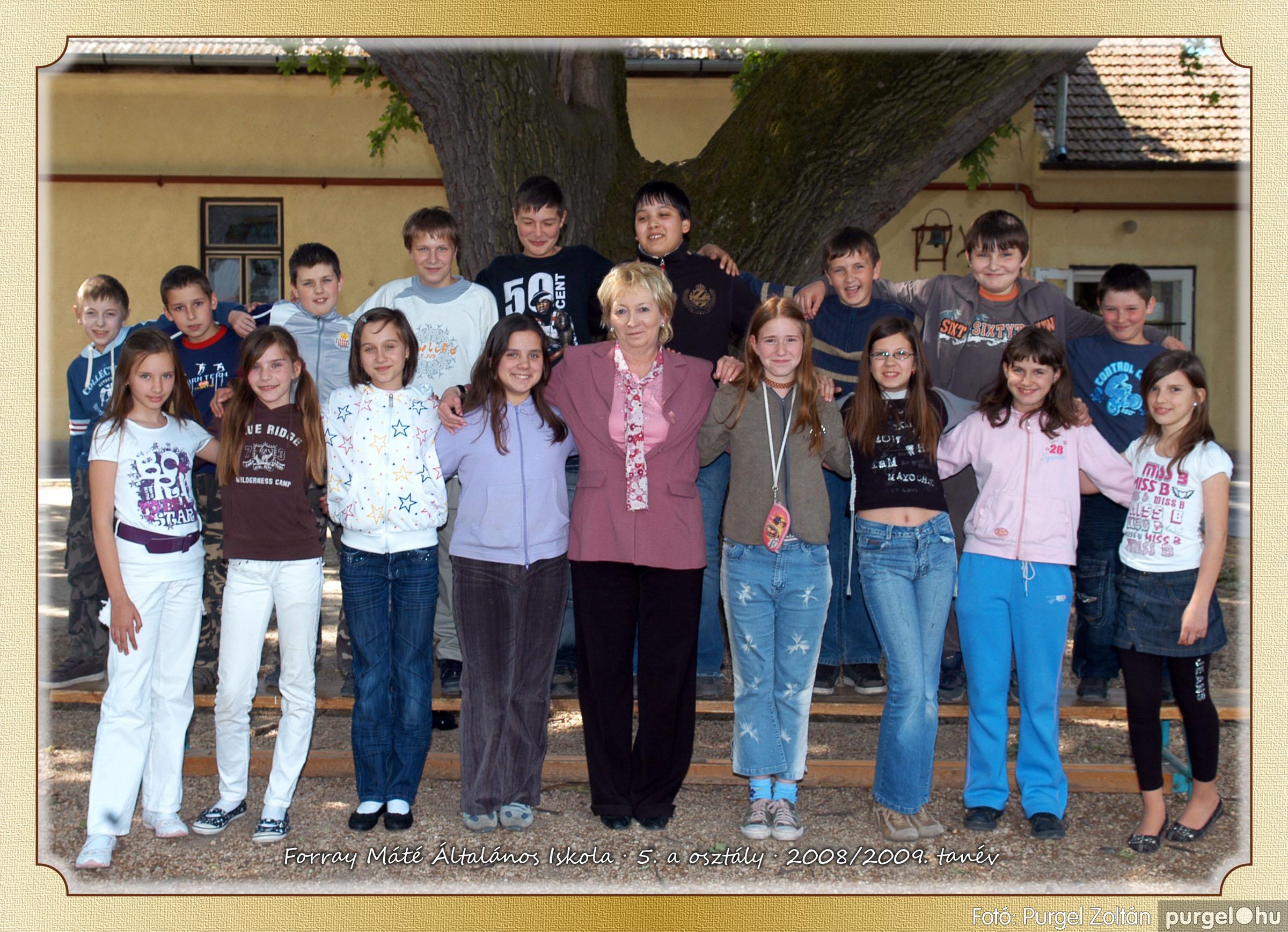 2009.05.04-26. 026 Forray Máté Általános Iskola osztályképek 2009. - Fotó:PURGEL ZOLTÁN© 5a-2.jpg
