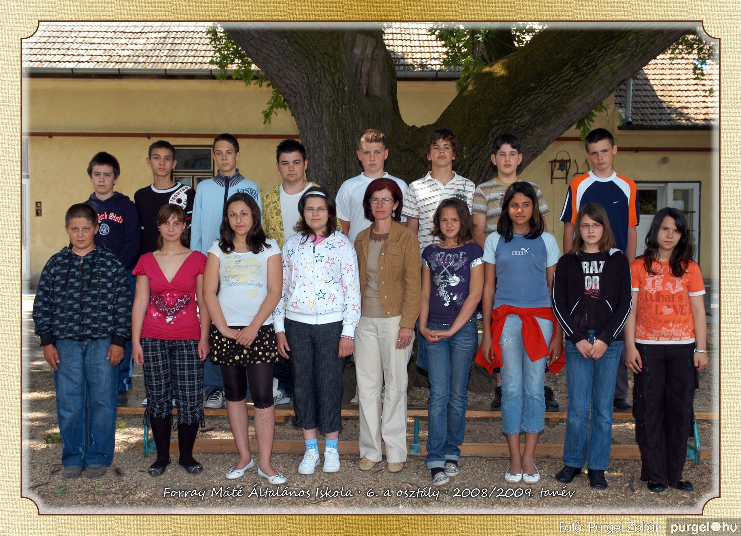 2009.05.04-26. 031 Forray Máté Általános Iskola osztályképek 2009. - Fotó:PURGEL ZOLTÁN© 6a-1.jpg
