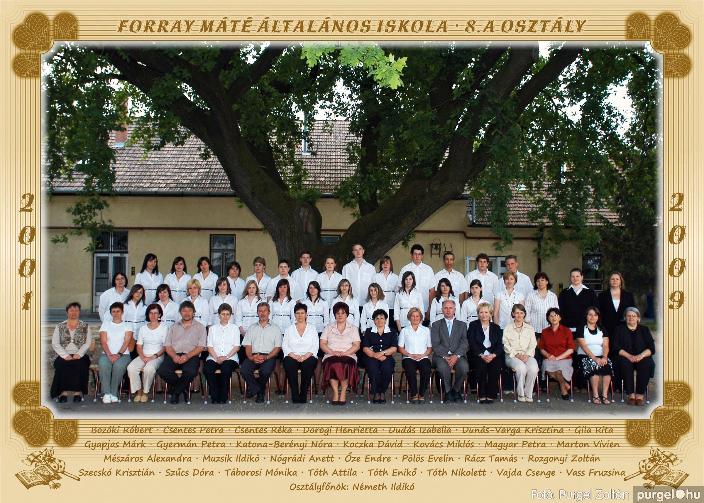2009.05.04-26. 043 Forray Máté Általános Iskola osztályképek 2009. - Fotó:PURGEL ZOLTÁN© 8a.jpg
