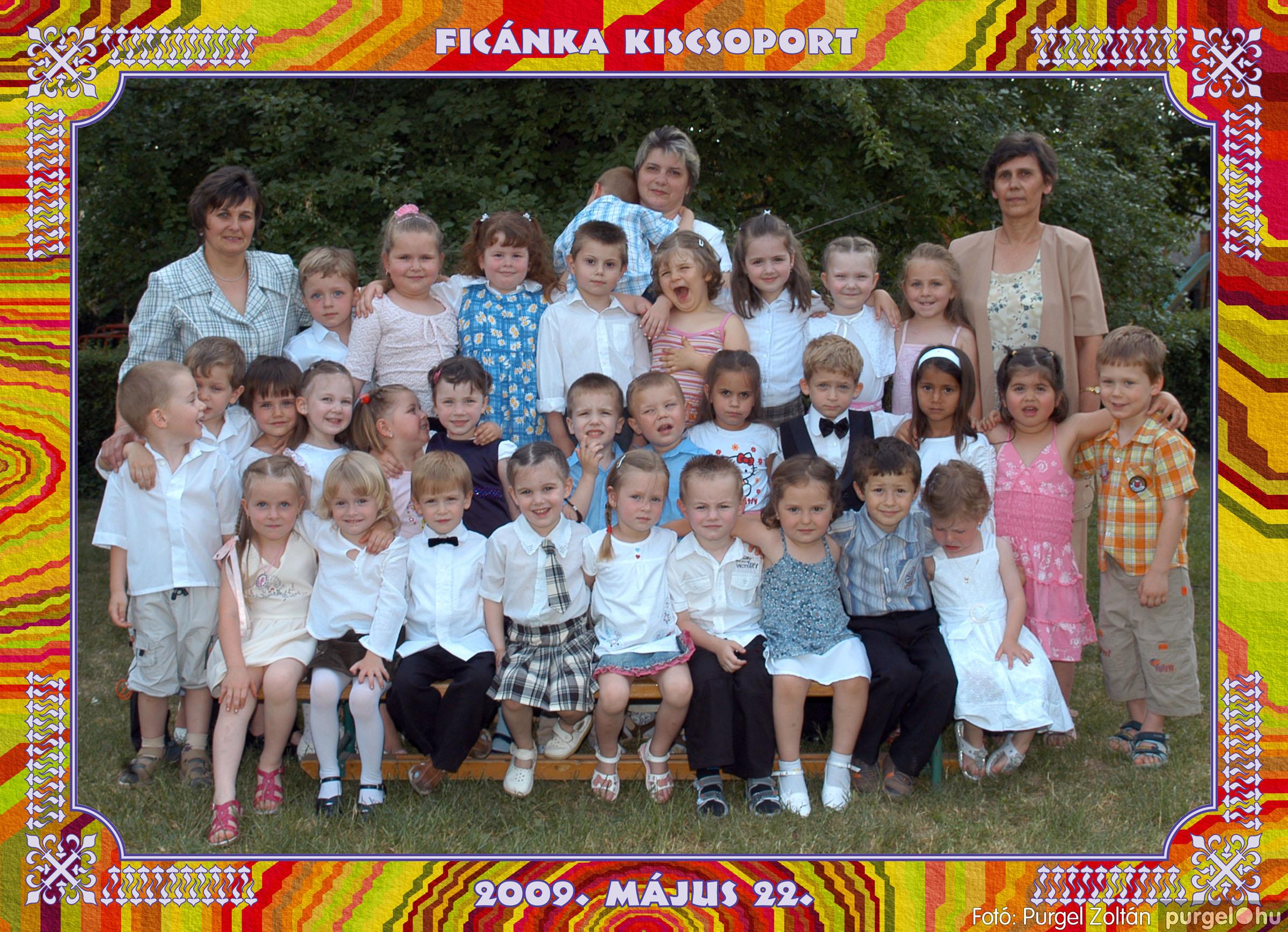 2009.05.20-30. 006 Kurca-parti Óvoda csoportképek 2009. - Fotó:PURGEL ZOLTÁN© 252Ficánka.jpg