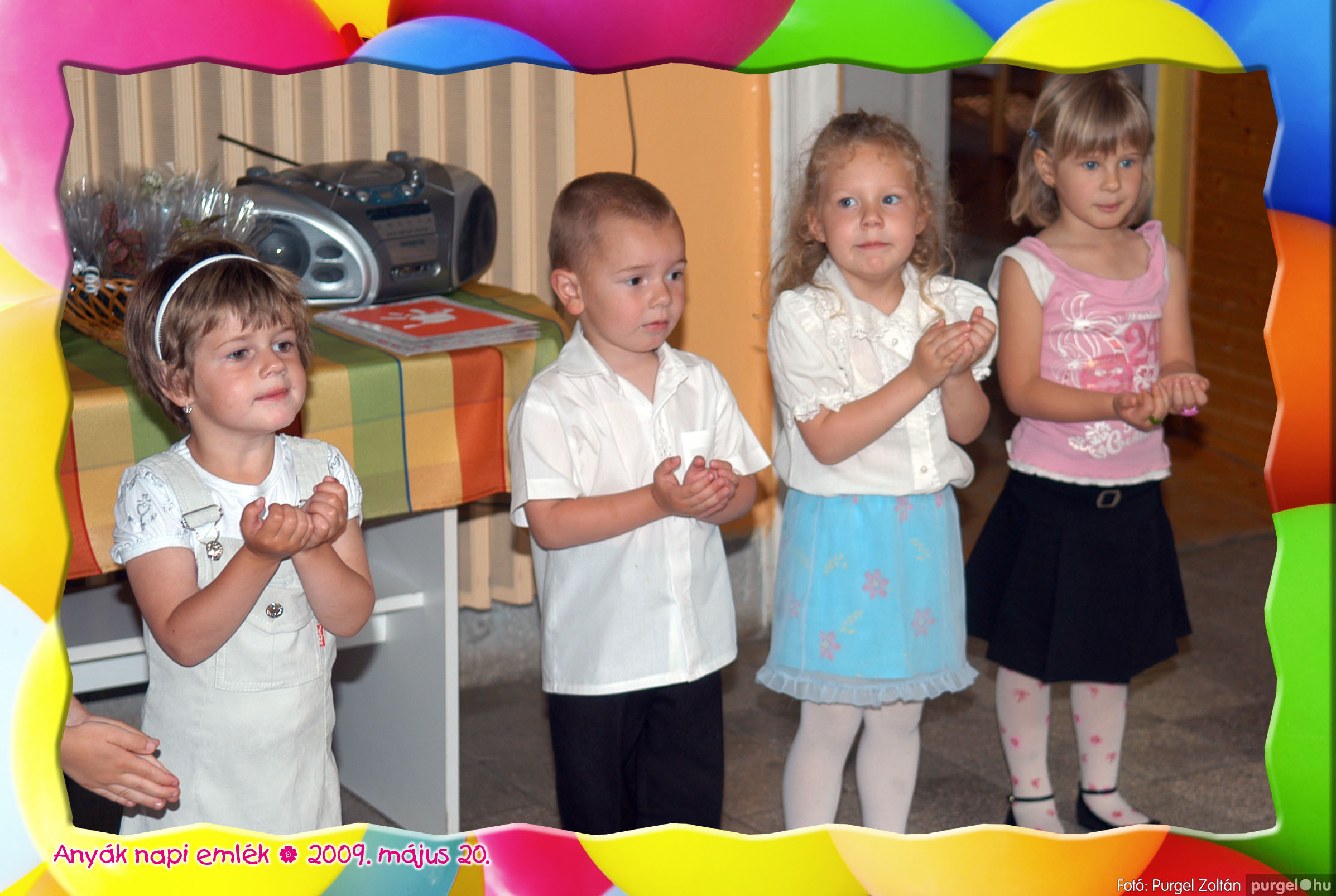 2009.05.20. 021 Kurca-parti Óvoda évzáró 2009. - Menő-Manó csoport - Fotó:PURGEL ZOLTÁN© 321.jpg