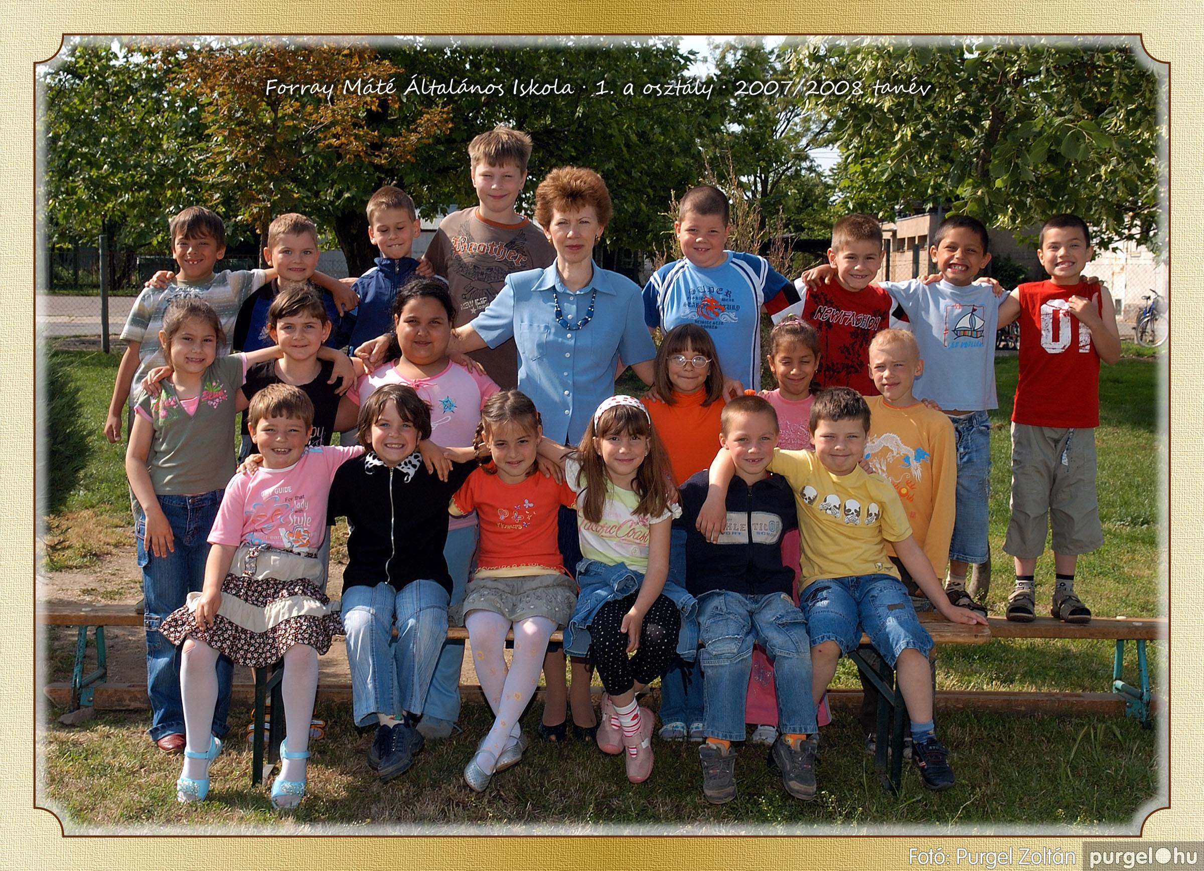 2008.05.08-26. 002 Forray Máté Általános Iskola osztályképek 2008. - Fotó:PURGEL ZOLTÁN© 1a-2.jpg
