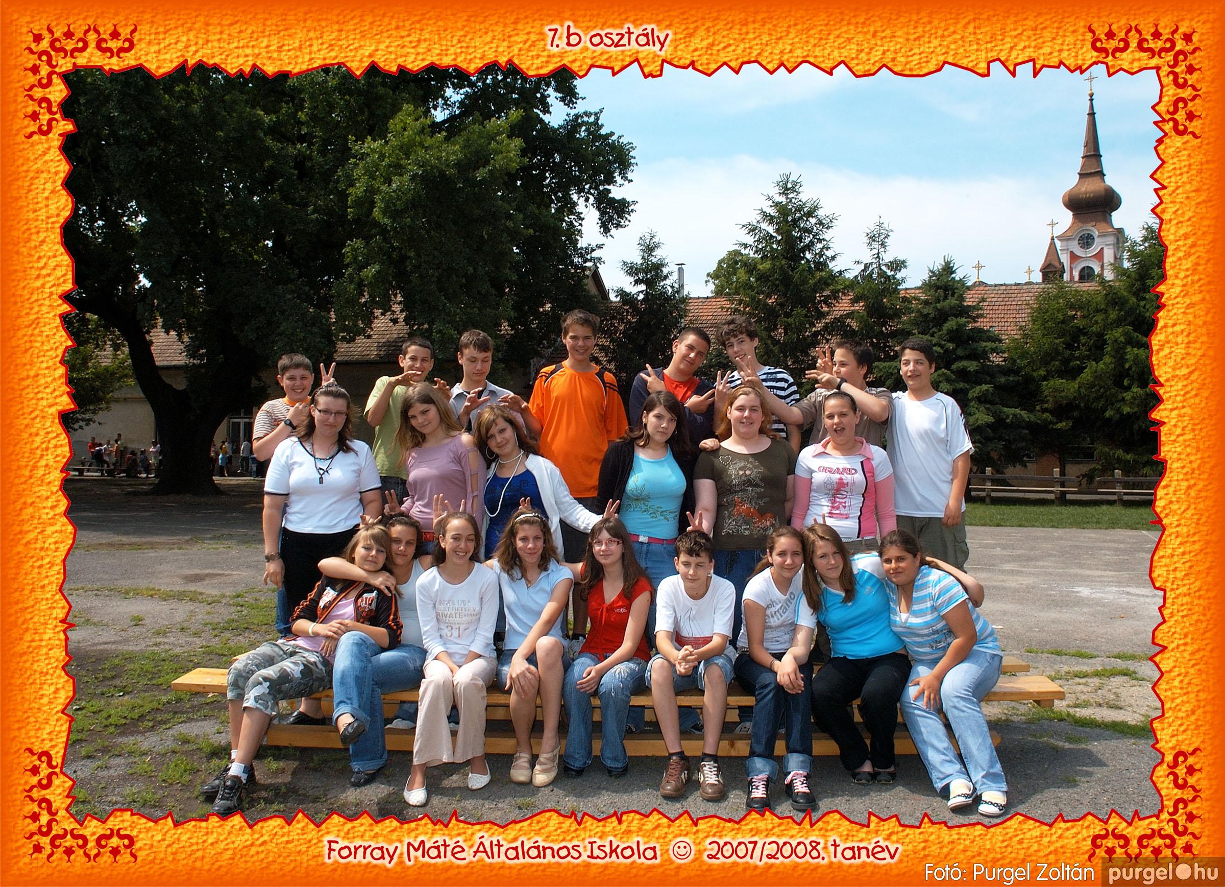 2008.05.08-26. 048 Forray Máté Általános Iskola osztályképek 2008. - Fotó:PURGEL ZOLTÁN© 7b-3.jpg