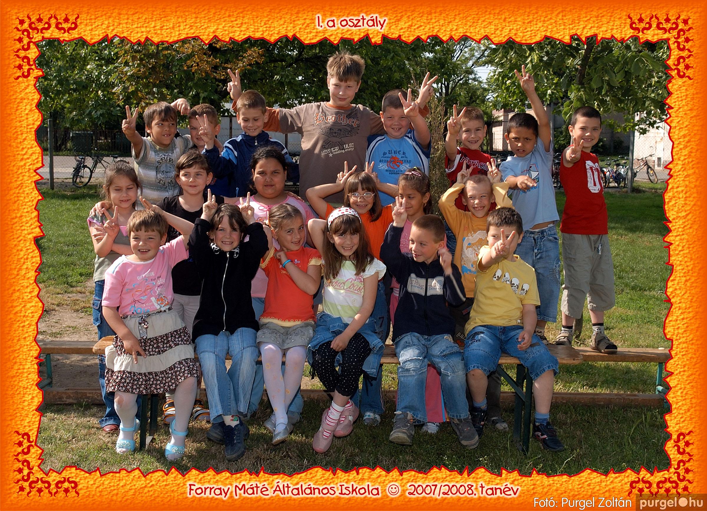 2008.05.08-26. 003 Forray Máté Általános Iskola osztályképek 2008. - Fotó:PURGEL ZOLTÁN© 1a-3.jpg