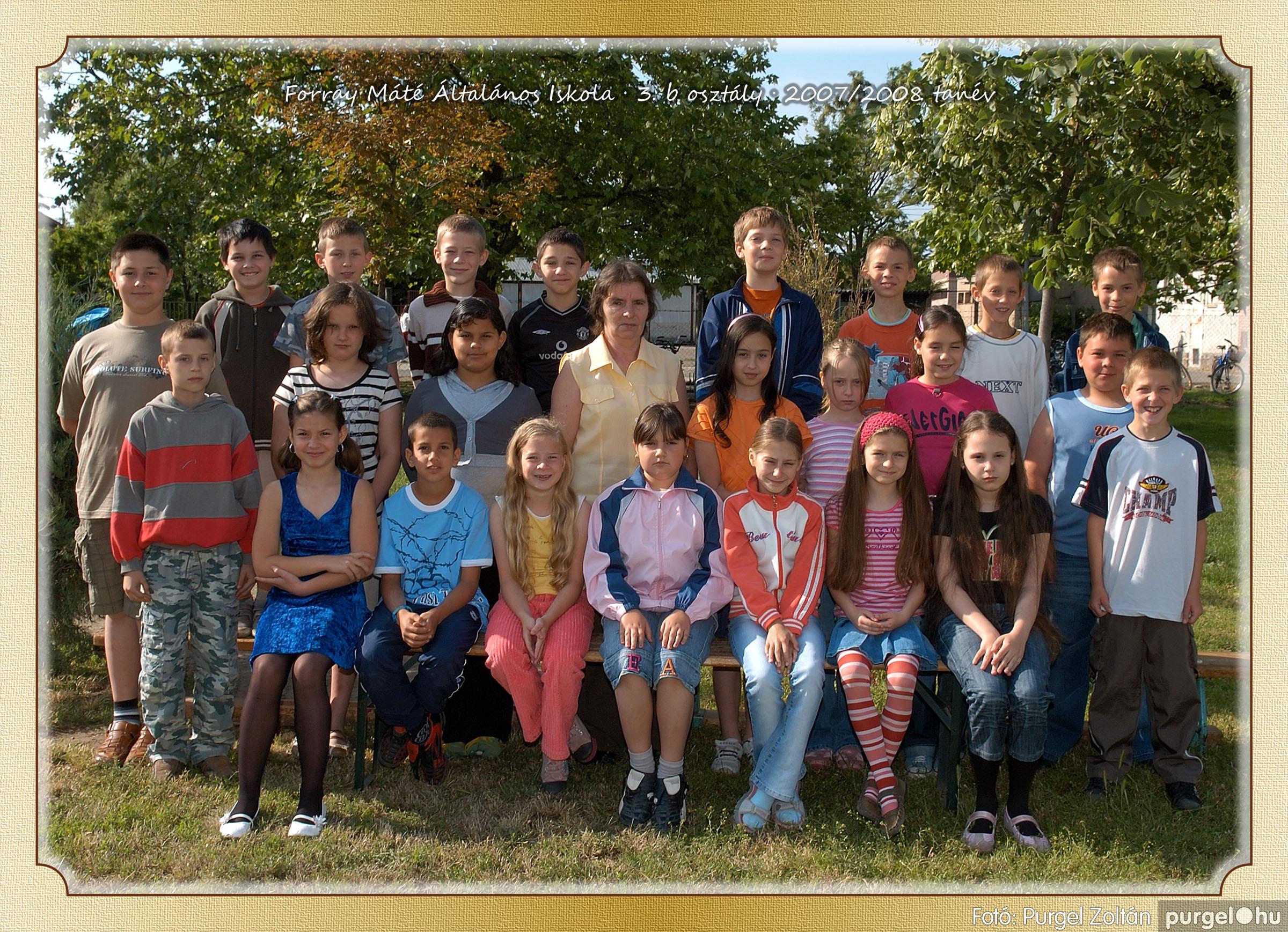 2008.05.08-26. 016 Forray Máté Általános Iskola osztályképek 2008. - Fotó:PURGEL ZOLTÁN© 3b-1.jpg