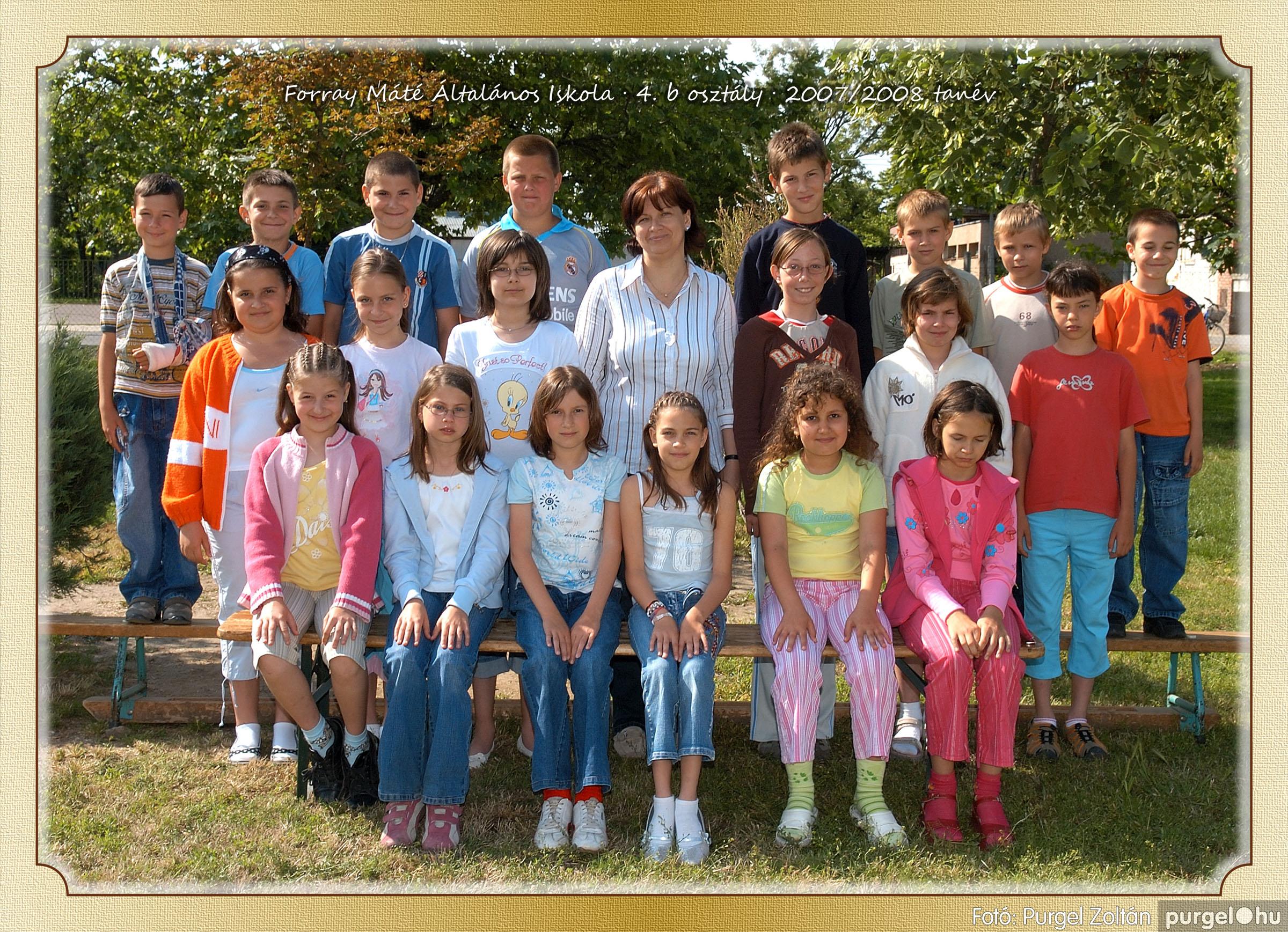 2008.05.08-26. 026 Forray Máté Általános Iskola osztályképek 2008. - Fotó:PURGEL ZOLTÁN© 4b-1.jpg