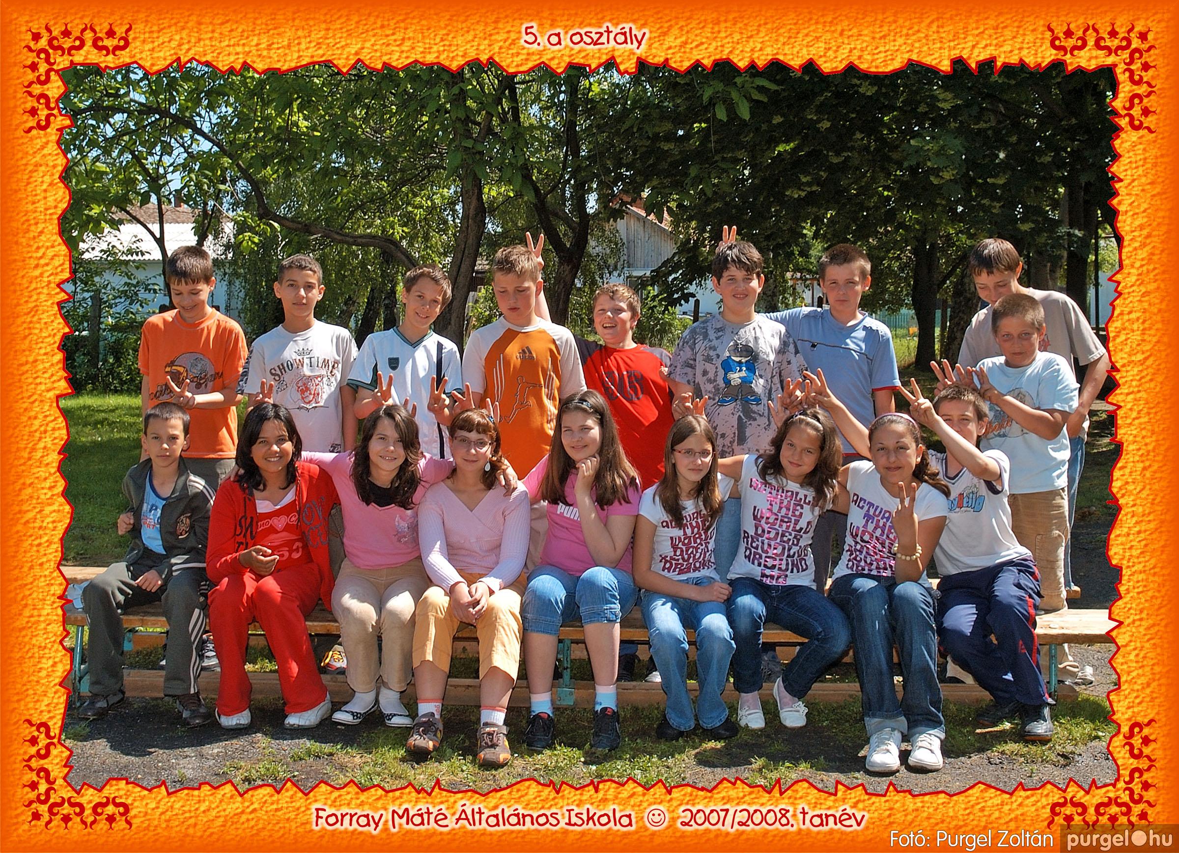 2008.05.08-26. 033 Forray Máté Általános Iskola osztályképek 2008. - Fotó:PURGEL ZOLTÁN© 5a-3.jpg