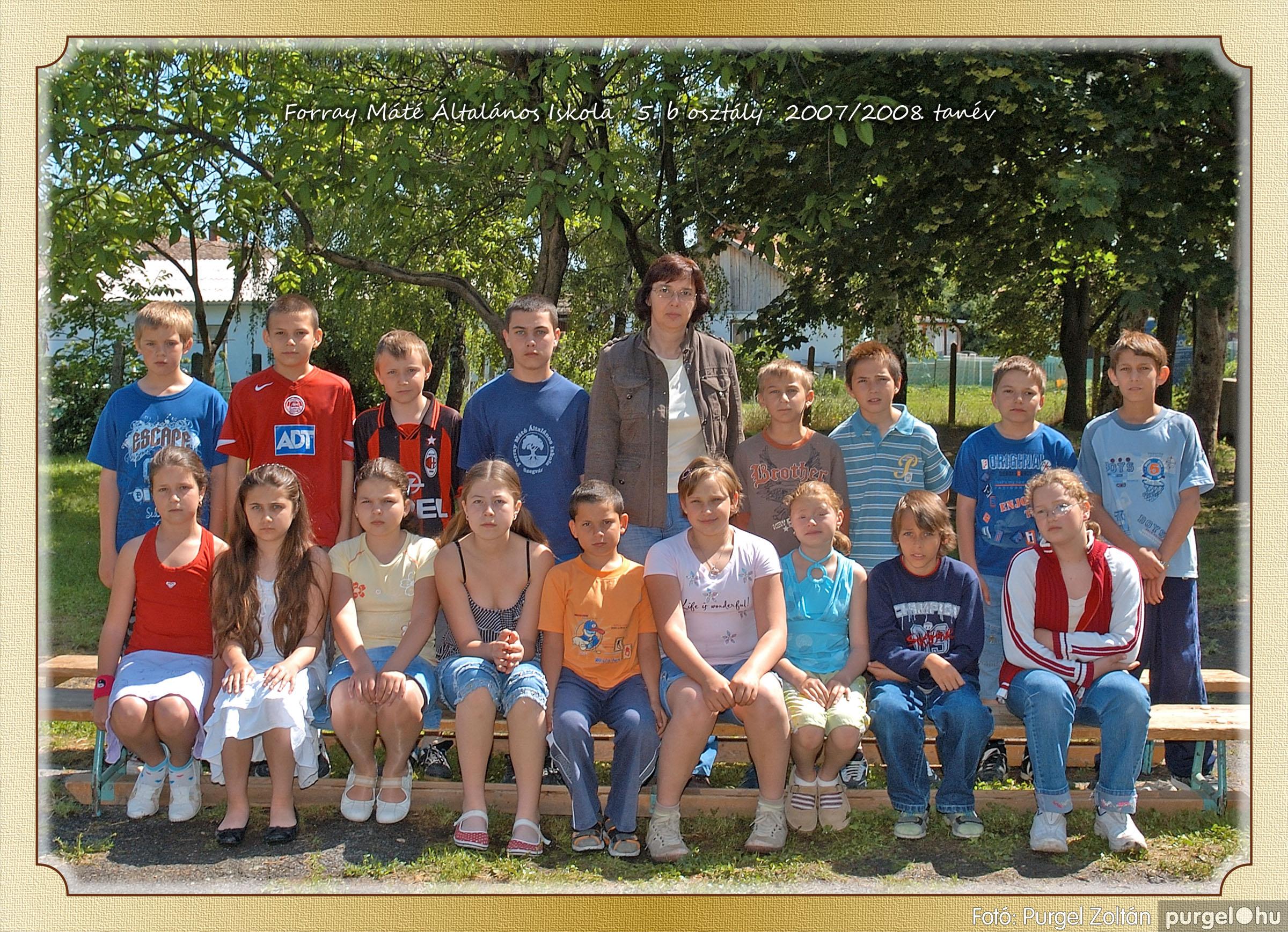 2008.05.08-26. 034 Forray Máté Általános Iskola osztályképek 2008. - Fotó:PURGEL ZOLTÁN© 5b-1.jpg