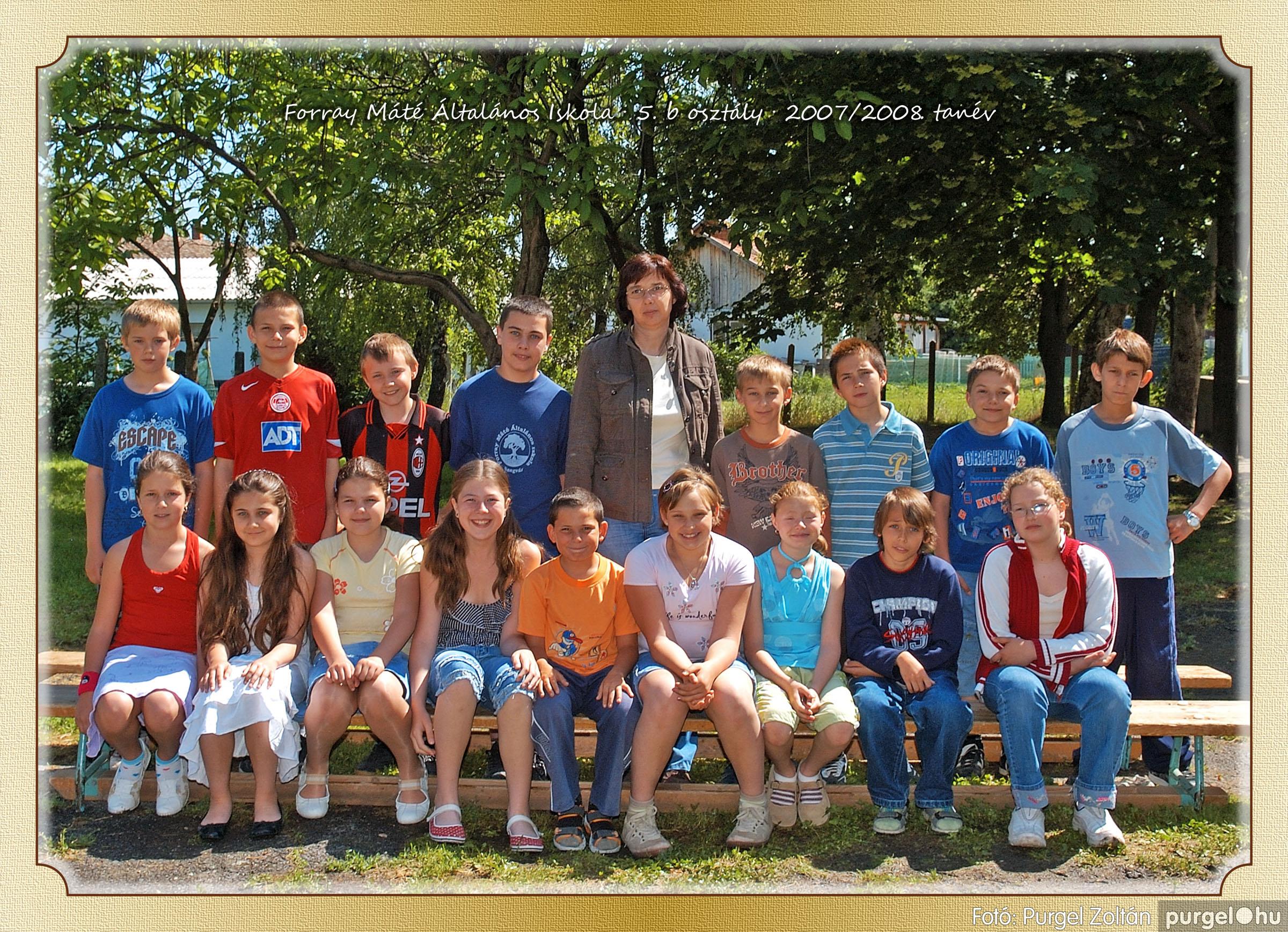 2008.05.08-26. 035 Forray Máté Általános Iskola osztályképek 2008. - Fotó:PURGEL ZOLTÁN© 5b-2.jpg