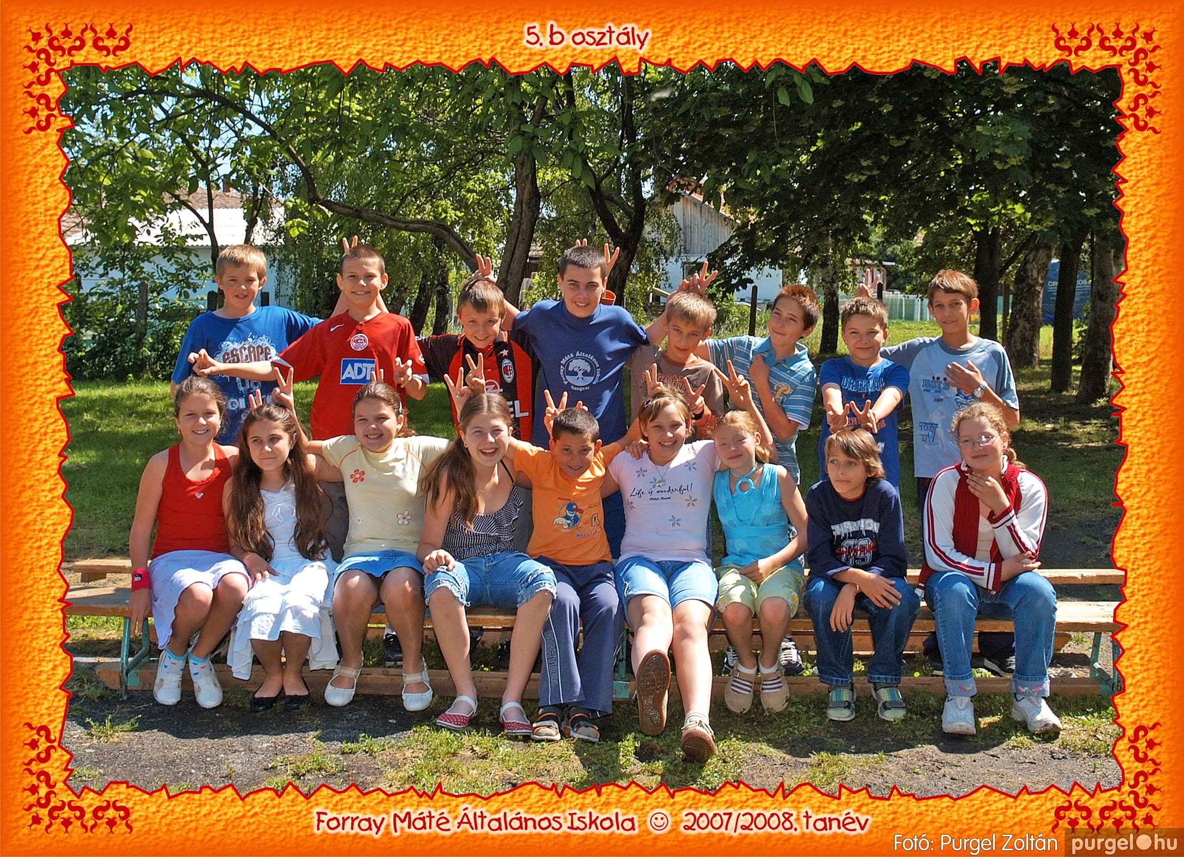 2008.05.08-26. 036 Forray Máté Általános Iskola osztályképek 2008. - Fotó:PURGEL ZOLTÁN© 5b-3.jpg