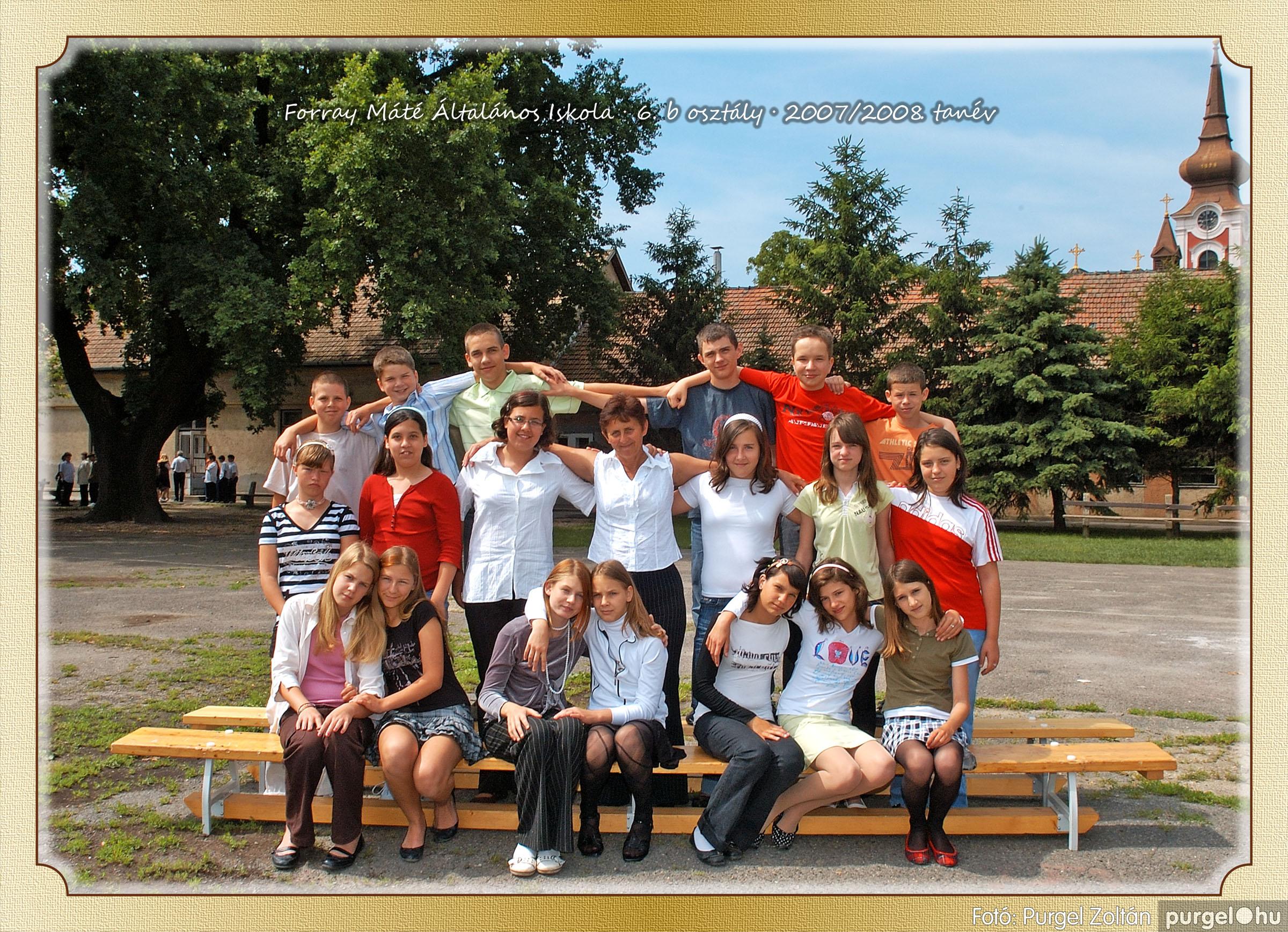 2008.05.08-26. 041 Forray Máté Általános Iskola osztályképek 2008. - Fotó:PURGEL ZOLTÁN© 6b-2.jpg