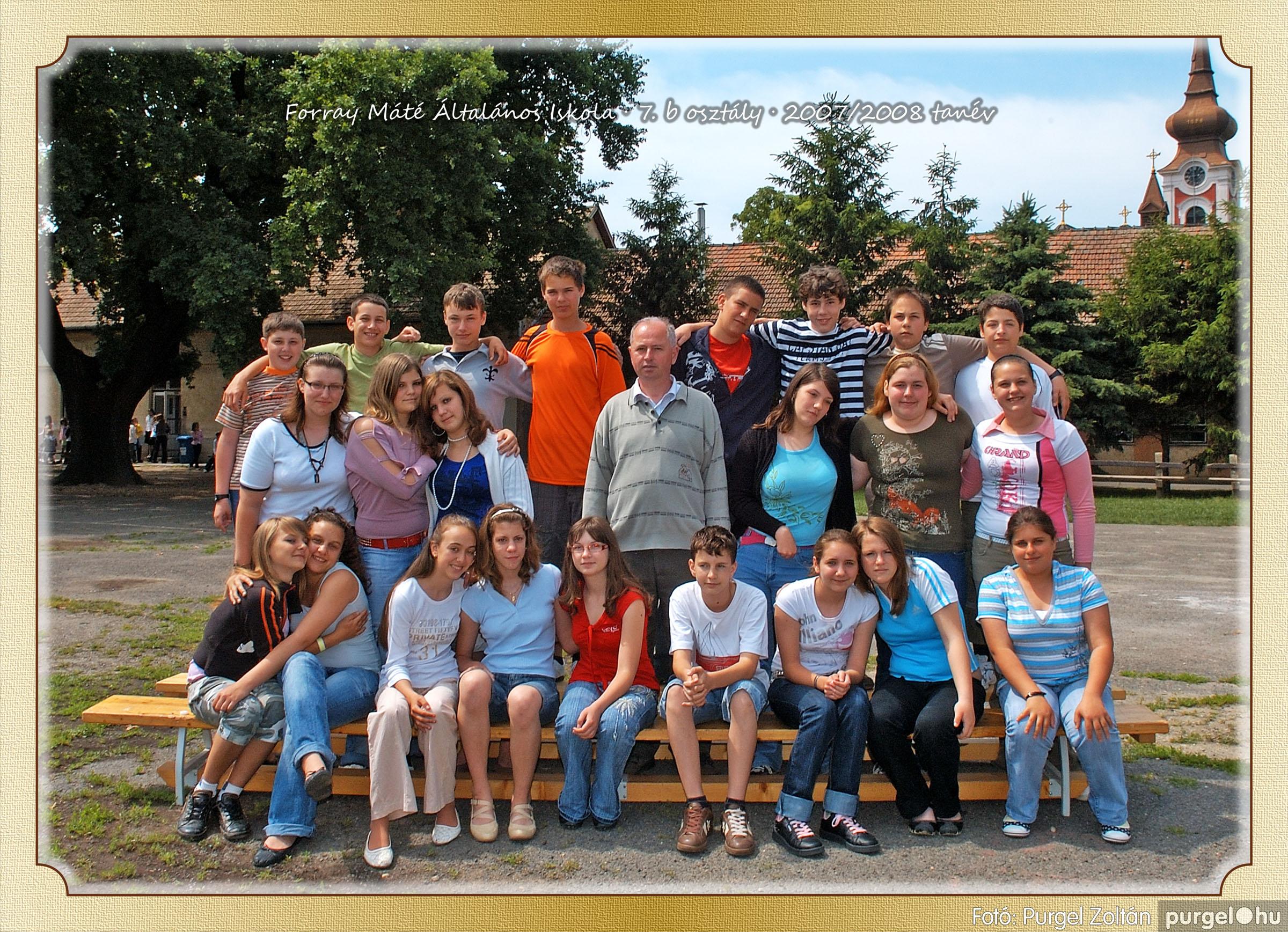 2008.05.08-26. 047 Forray Máté Általános Iskola osztályképek 2008. - Fotó:PURGEL ZOLTÁN© 7b-2.jpg