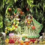 ISKCON Punjabi Bagh Deity Darshan 03 Aug 2019