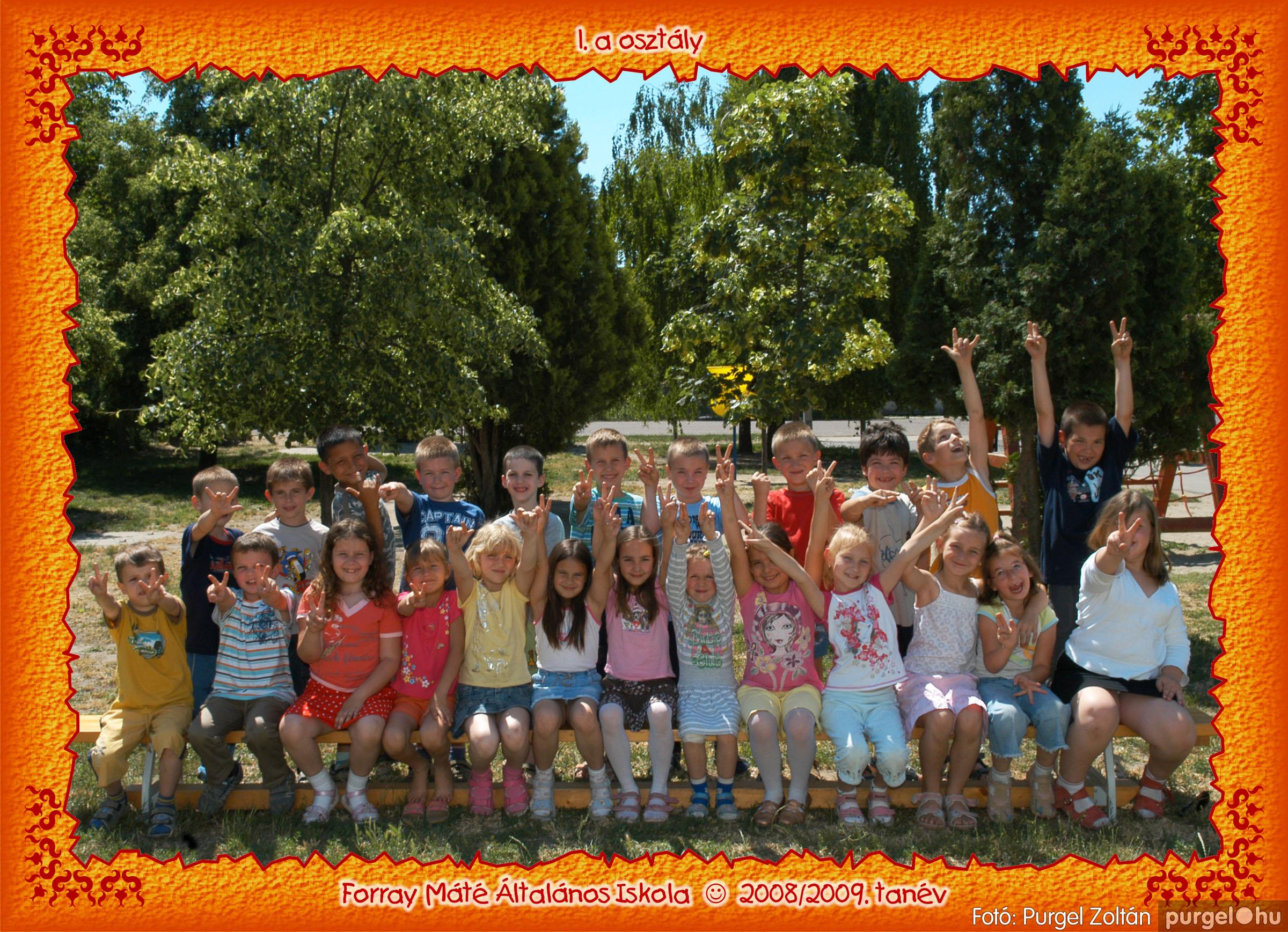 2009.05.04-26. 003 Forray Máté Általános Iskola osztályképek 2009. - Fotó:PURGEL ZOLTÁN© 1a-3.jpg