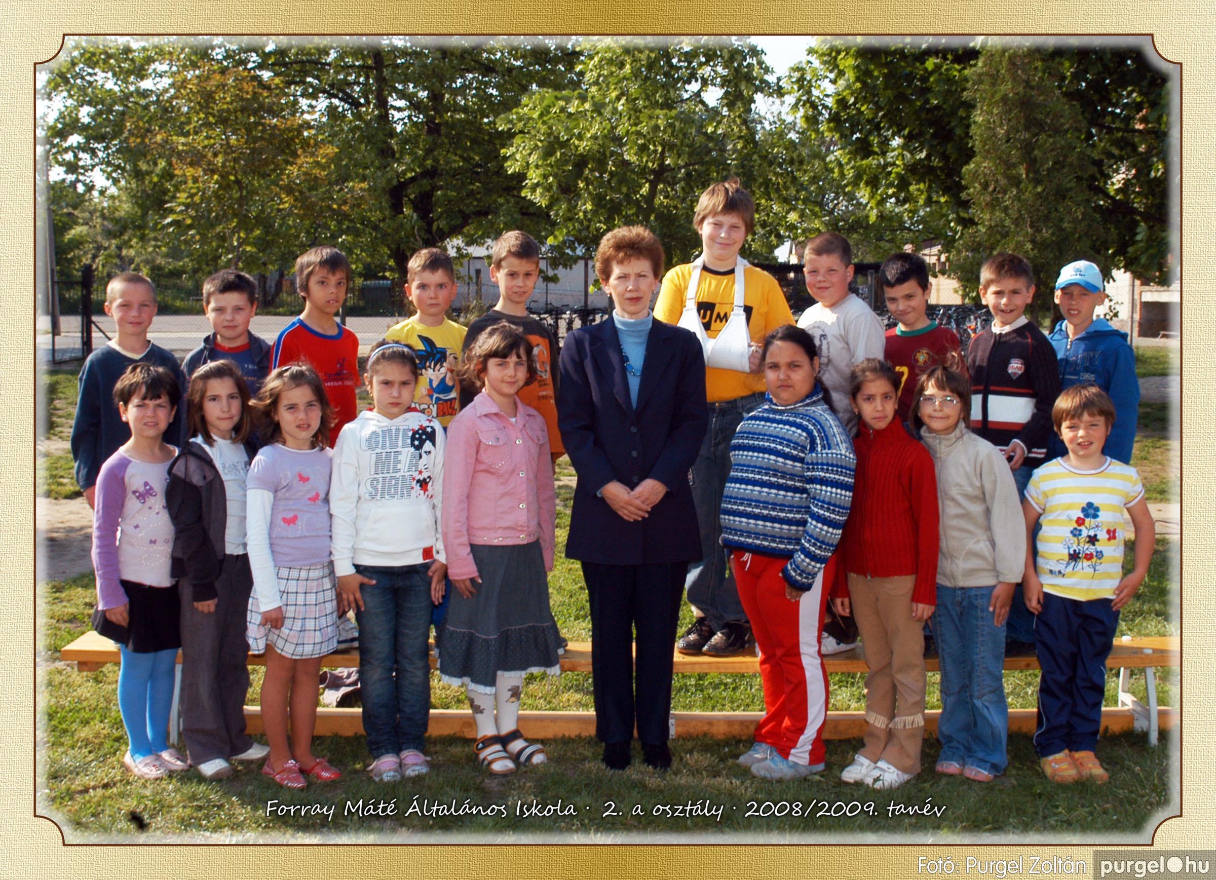 2009.05.04-26. 007 Forray Máté Általános Iskola osztályképek 2009. - Fotó:PURGEL ZOLTÁN© 2a-1.jpg