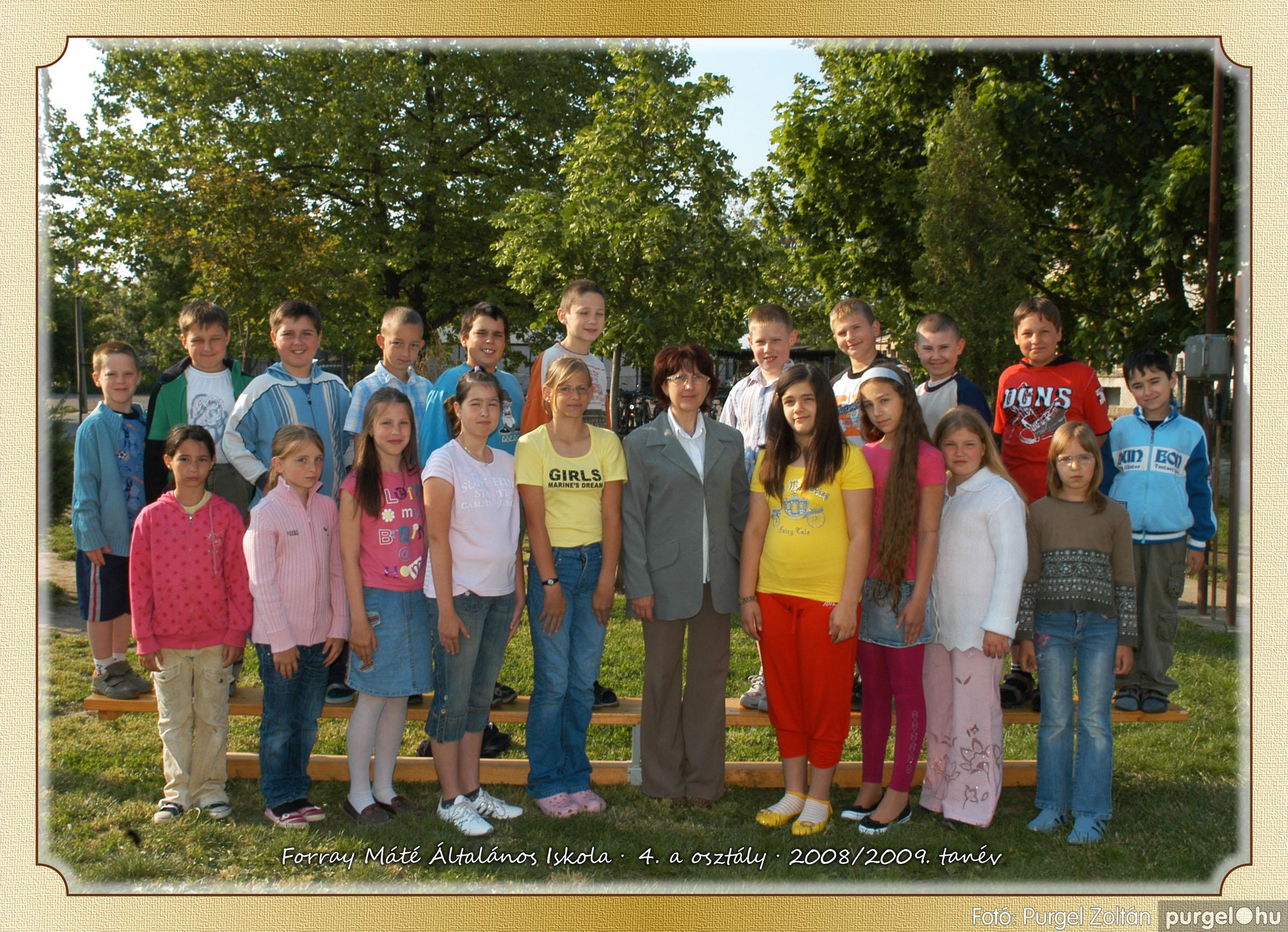 2009.05.04-26. 019 Forray Máté Általános Iskola osztályképek 2009. - Fotó:PURGEL ZOLTÁN© 4a-1.jpg