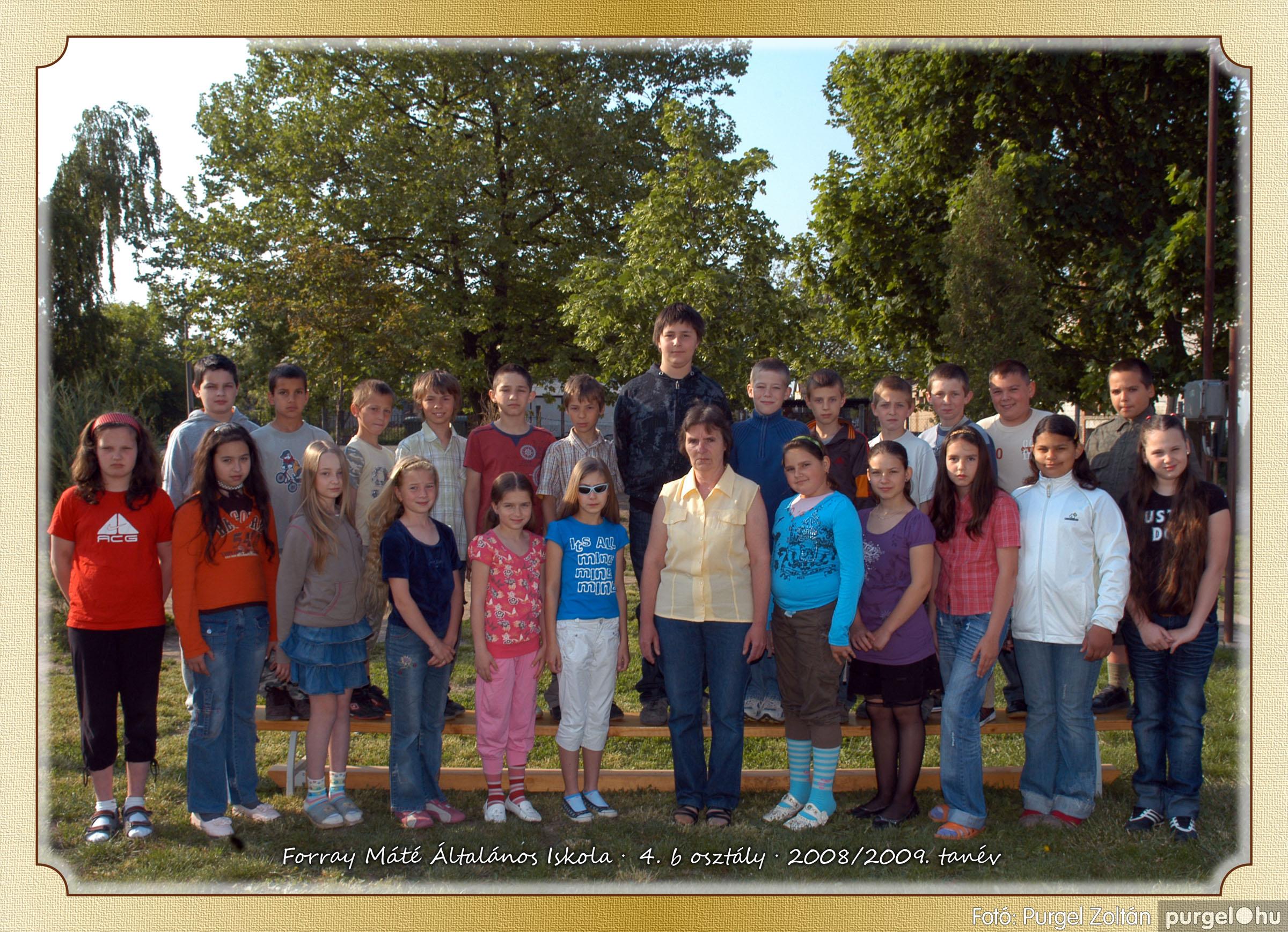 2009.05.04-26. 022 Forray Máté Általános Iskola osztályképek 2009. - Fotó:PURGEL ZOLTÁN© 4b-1.jpg