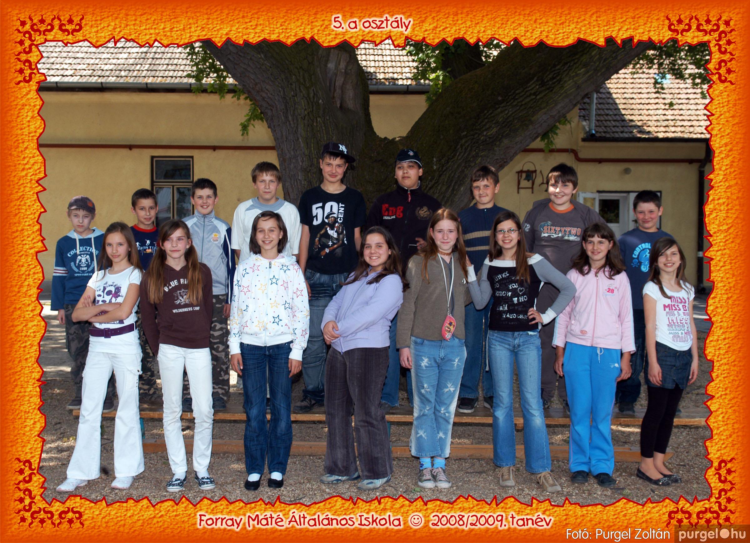 2009.05.04-26. 027 Forray Máté Általános Iskola osztályképek 2009. - Fotó:PURGEL ZOLTÁN© 5a-3.jpg