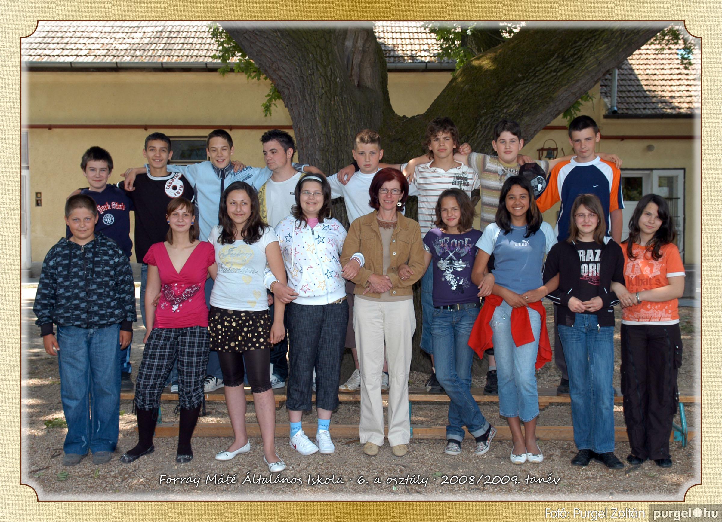 2009.05.04-26. 032 Forray Máté Általános Iskola osztályképek 2009. - Fotó:PURGEL ZOLTÁN© 6a-2.jpg