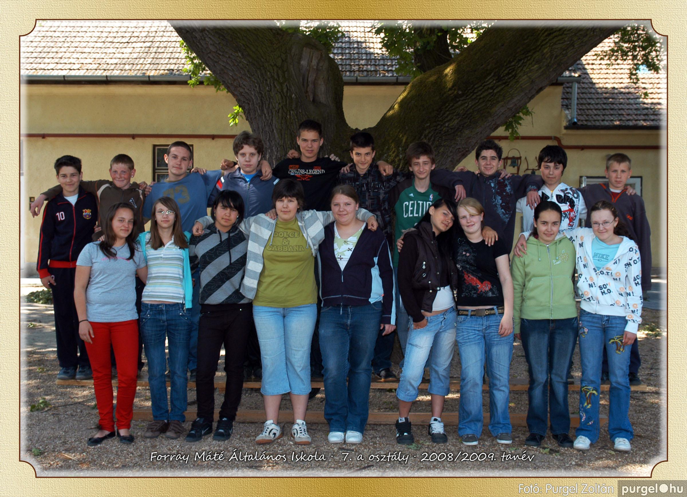2009.05.04-26. 038 Forray Máté Általános Iskola osztályképek 2009. - Fotó:PURGEL ZOLTÁN© 7a-2.jpg