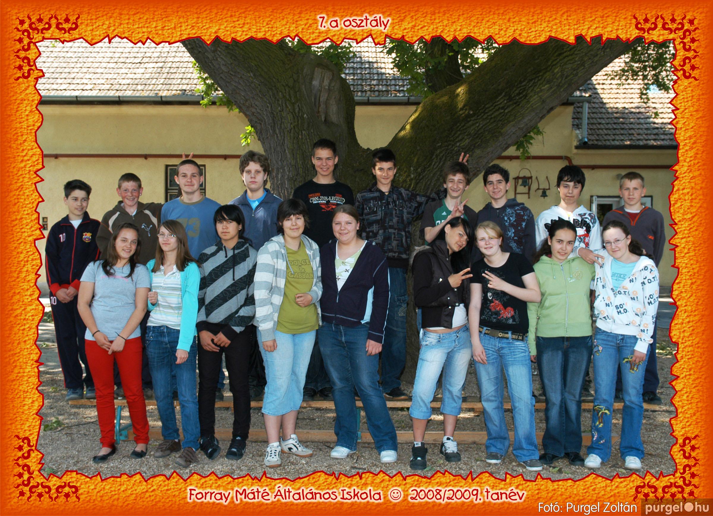2009.05.04-26. 039 Forray Máté Általános Iskola osztályképek 2009. - Fotó:PURGEL ZOLTÁN© 7a-3.jpg