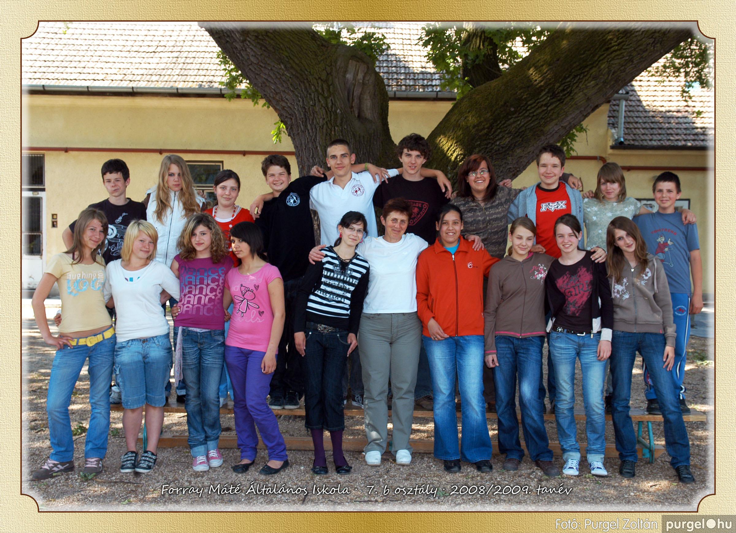 2009.05.04-26. 041 Forray Máté Általános Iskola osztályképek 2009. - Fotó:PURGEL ZOLTÁN© 7b-2.jpg