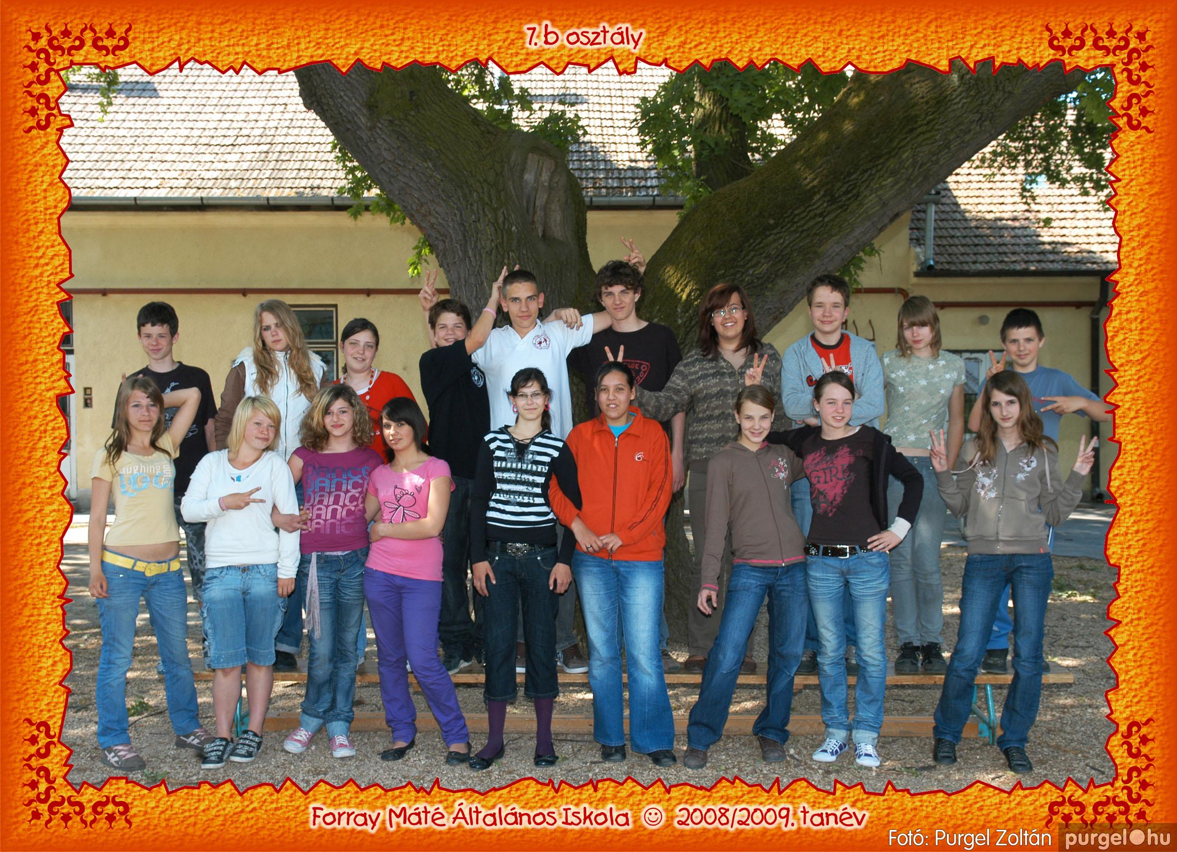 2009.05.04-26. 042 Forray Máté Általános Iskola osztályképek 2009. - Fotó:PURGEL ZOLTÁN© 7b-3.jpg