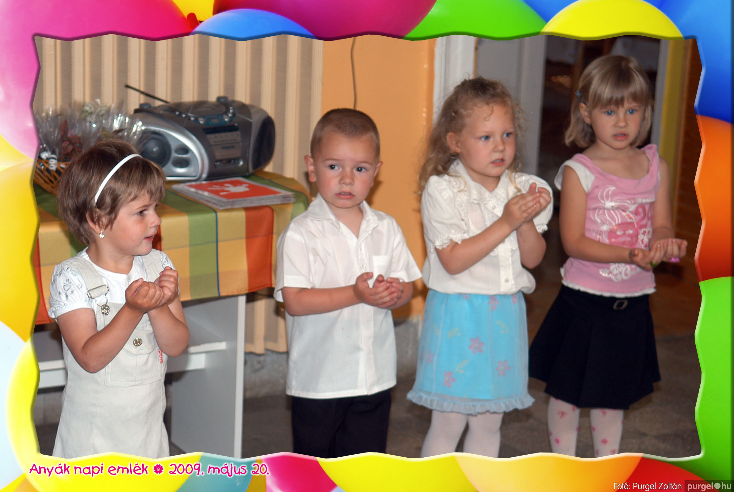 2009.05.20. 022 Kurca-parti Óvoda évzáró 2009. - Menő-Manó csoport - Fotó:PURGEL ZOLTÁN© 322.jpg