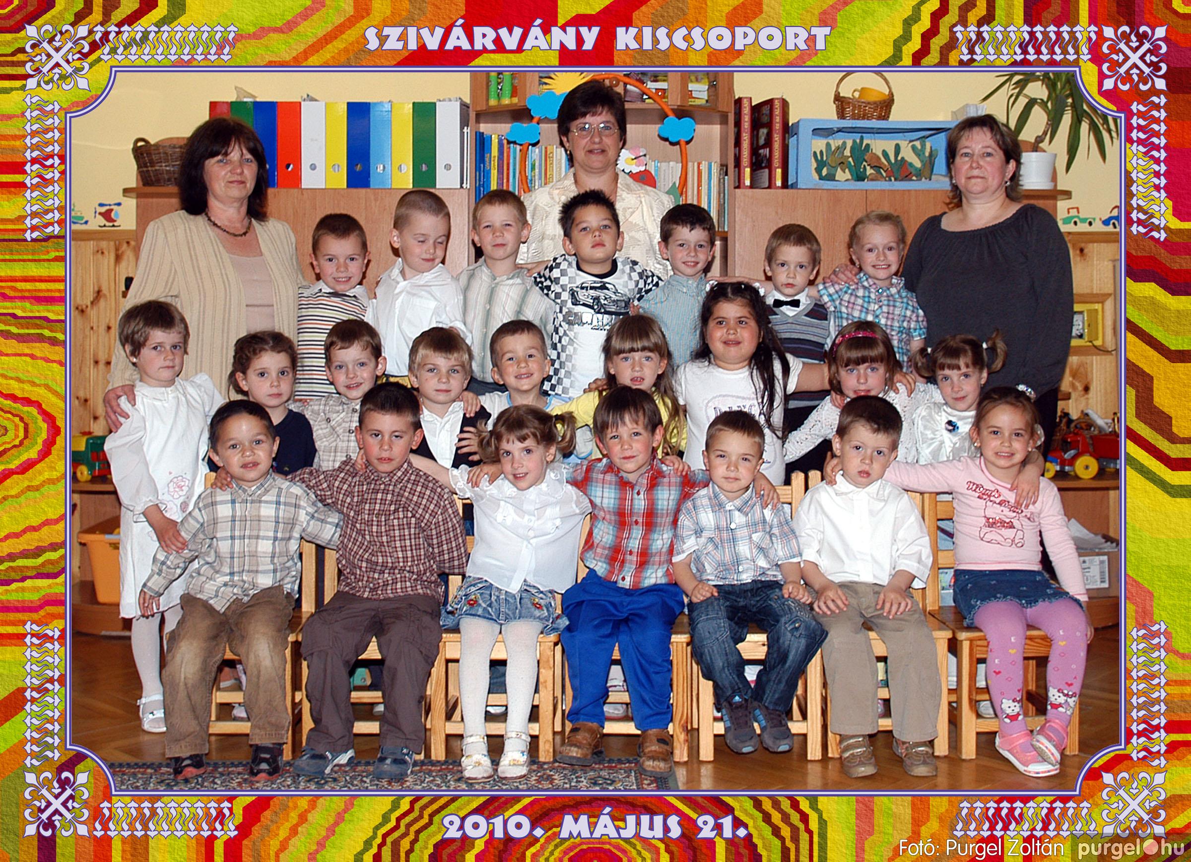 2010.05.12-29. 025 Kurca-parti Óvoda csoportképek 2010. - Fotó:PURGEL ZOLTÁN© 652Szivárvány2.jpg
